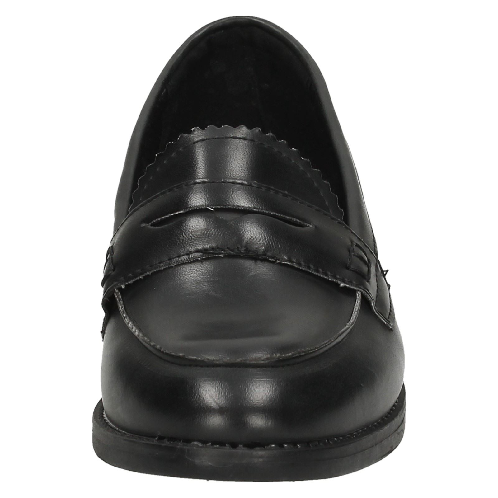Ladies Spot On Loafer Style /'Shoes/'