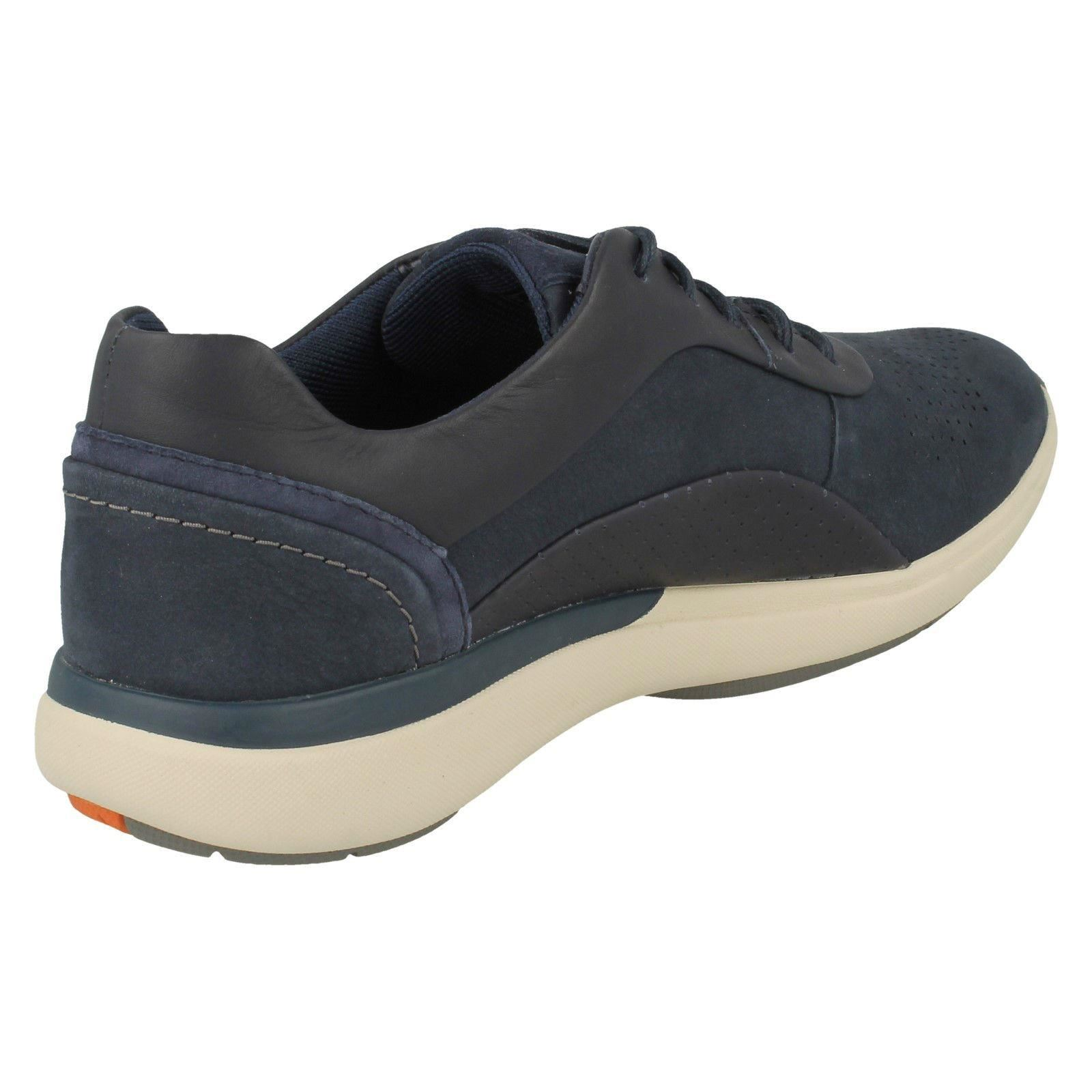 Ladies Clarks Unstructured Lace Up Trainers Un Cruise Lace