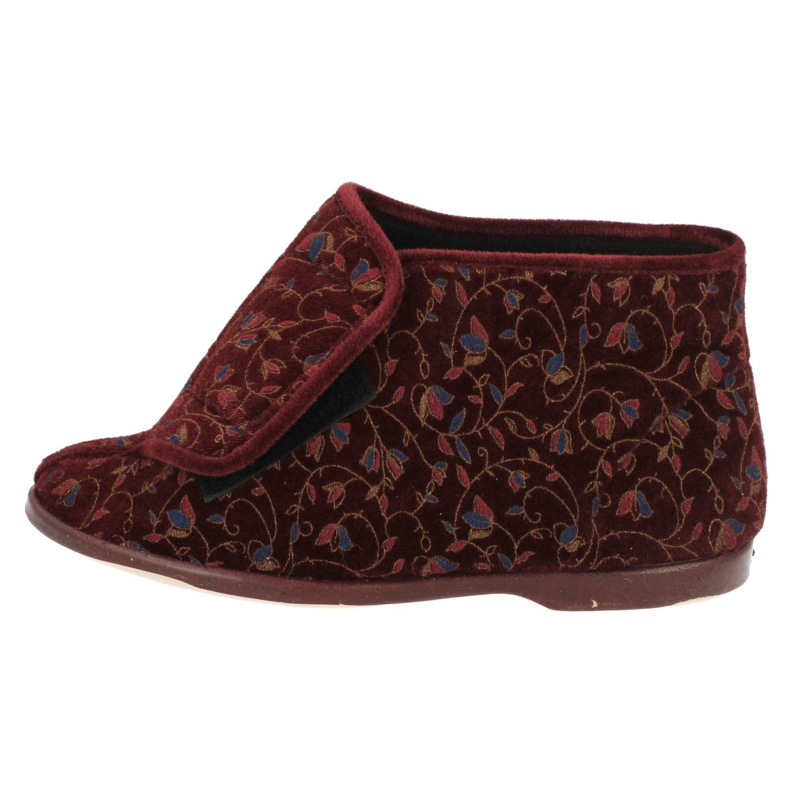 Ladies Lady Love Boot Slippers *Edith*
