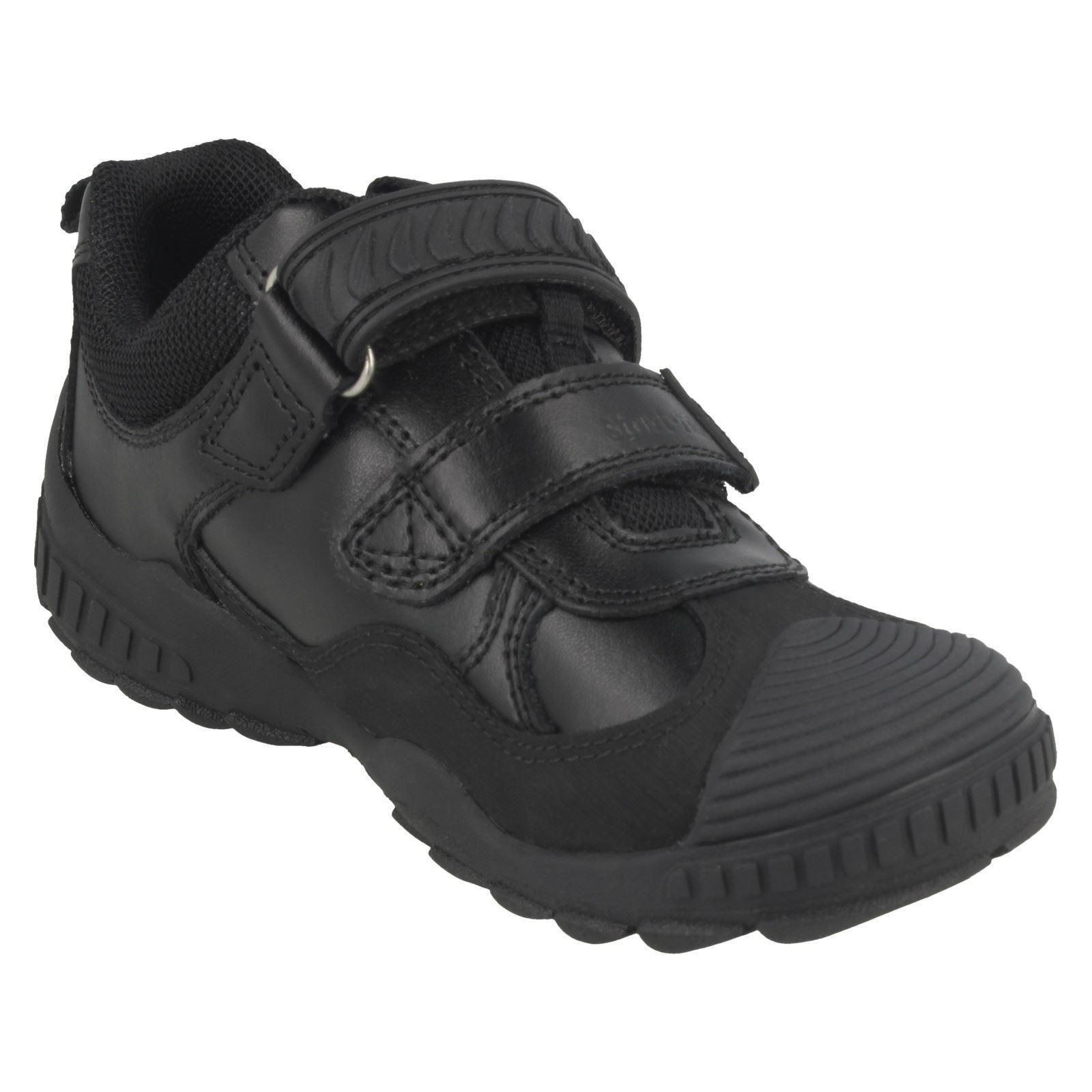 Boys Startrite Double Strap School Shoes Extreme Pri