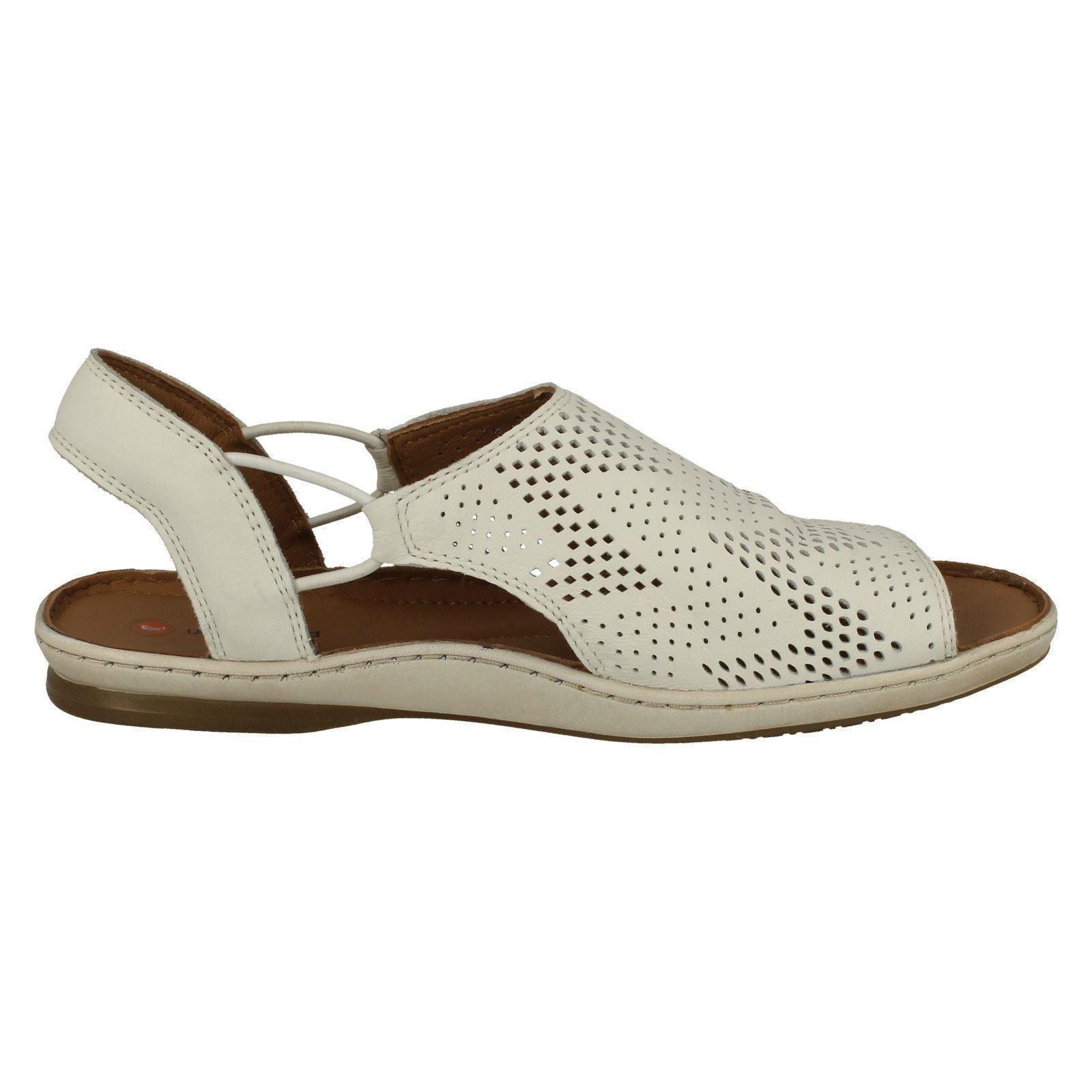 Ladies Clarks Slip On Flat Sandals /'Sarla Cadence/'