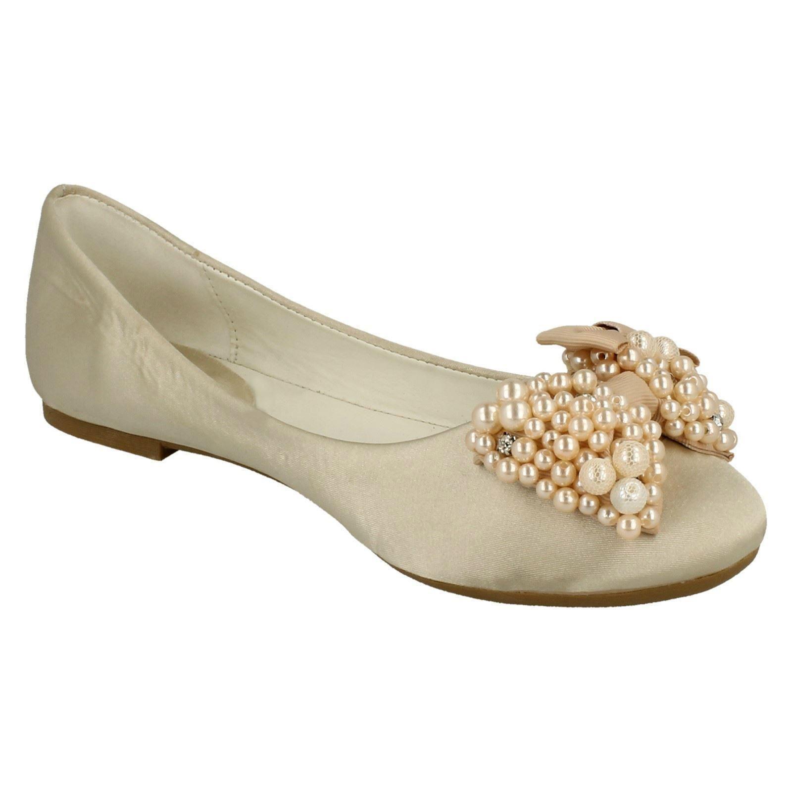Ladies Spot on Bow Ballerine /'Flats/'