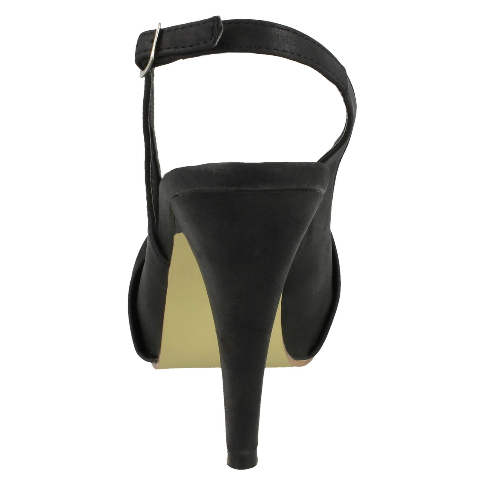 Ladies Anne Michelle Open Back Heeled *Sandals*