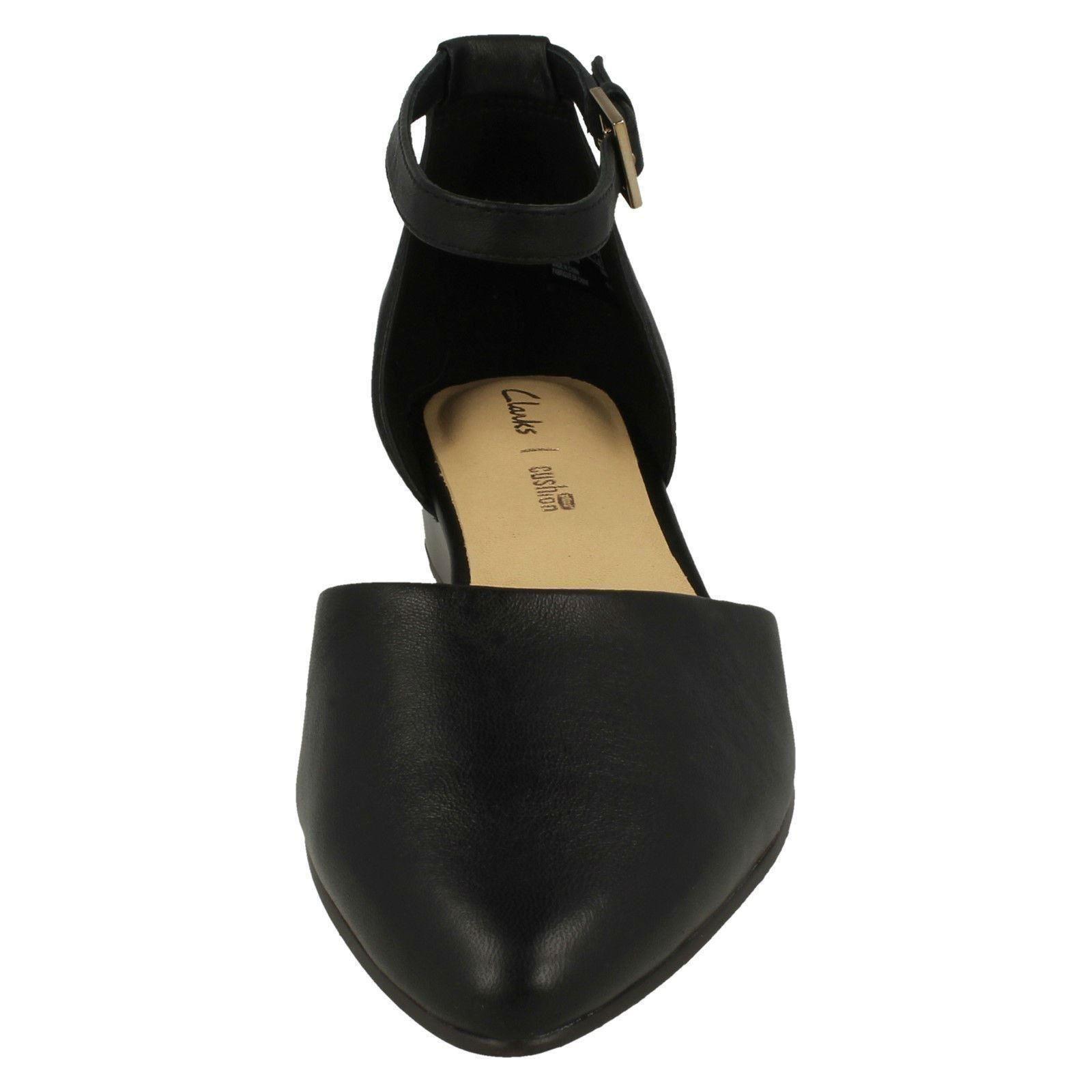 Ladies Clarks Summer Wedge Heeled Shoes Sense Eva