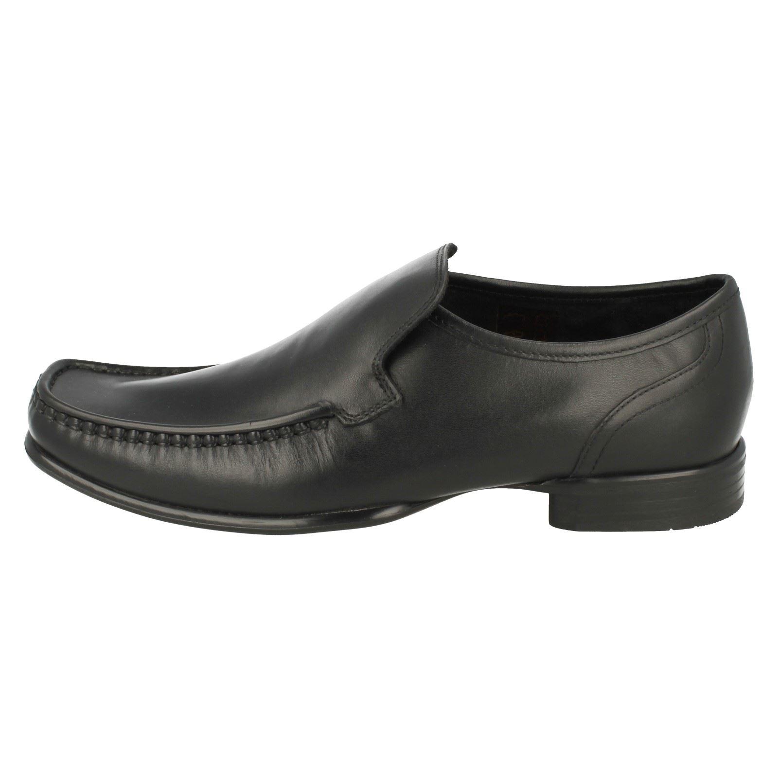 Mens Ikon Slip On Moccasin Shoes /'Argent/'