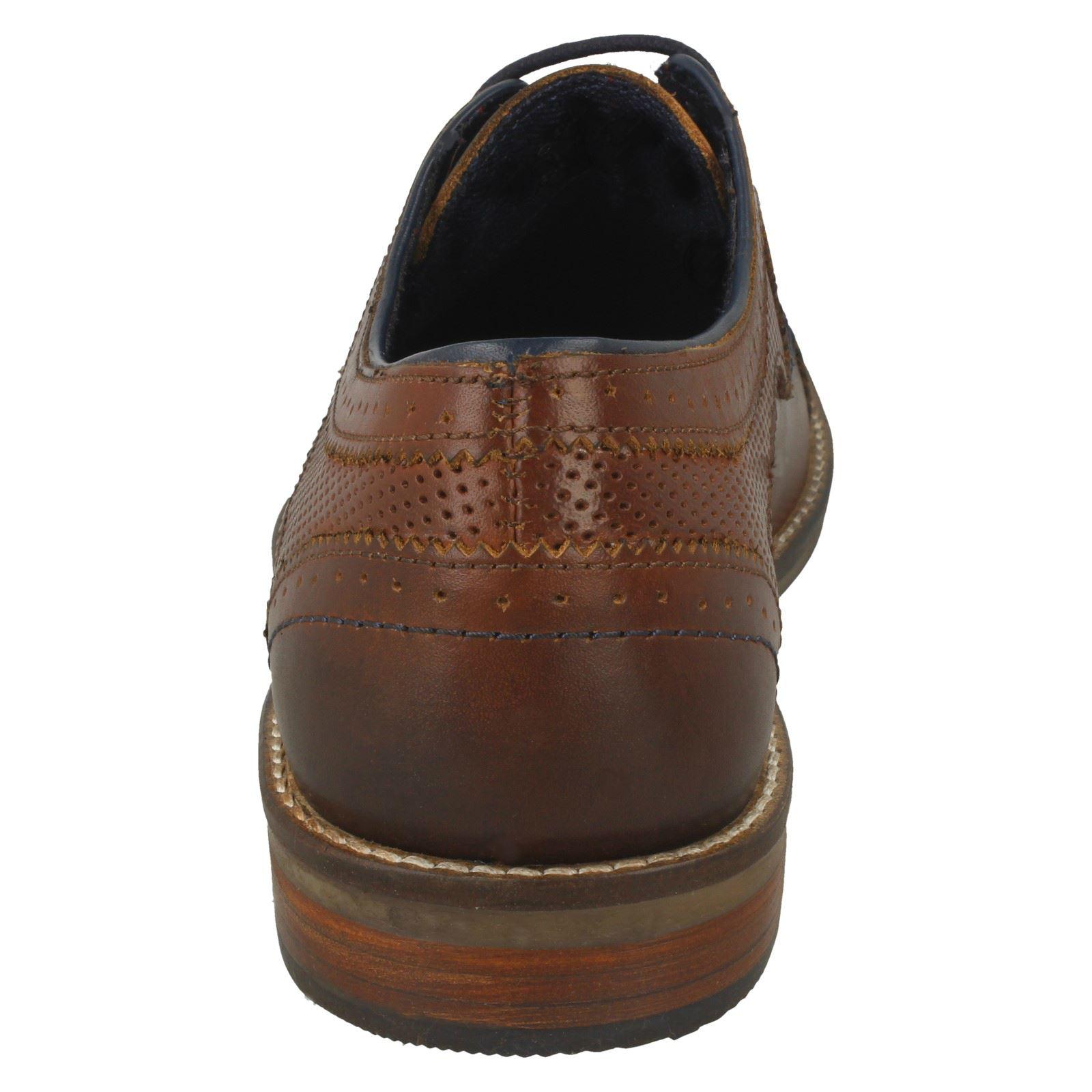 Mens POD Laced Up Shoe Montana