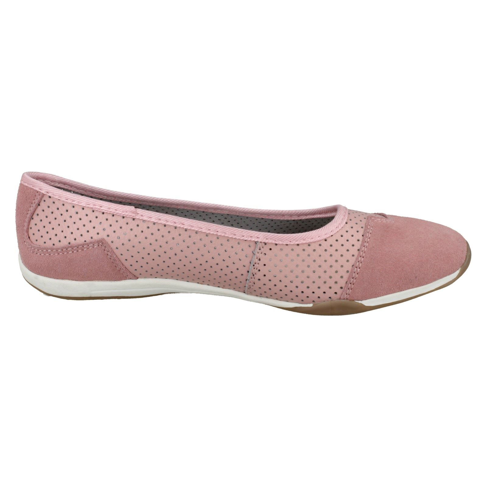 Ladies Down To Earth Casual Leather /'Ballerinas/'