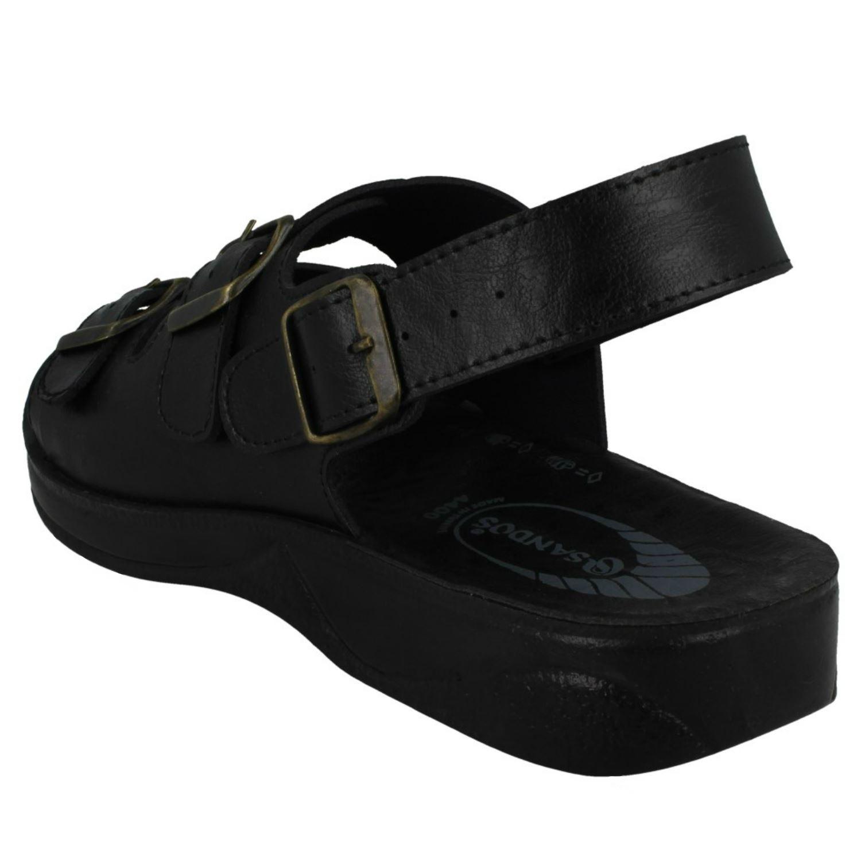 Mens Sandos P51104-2 Open Toe Sandals