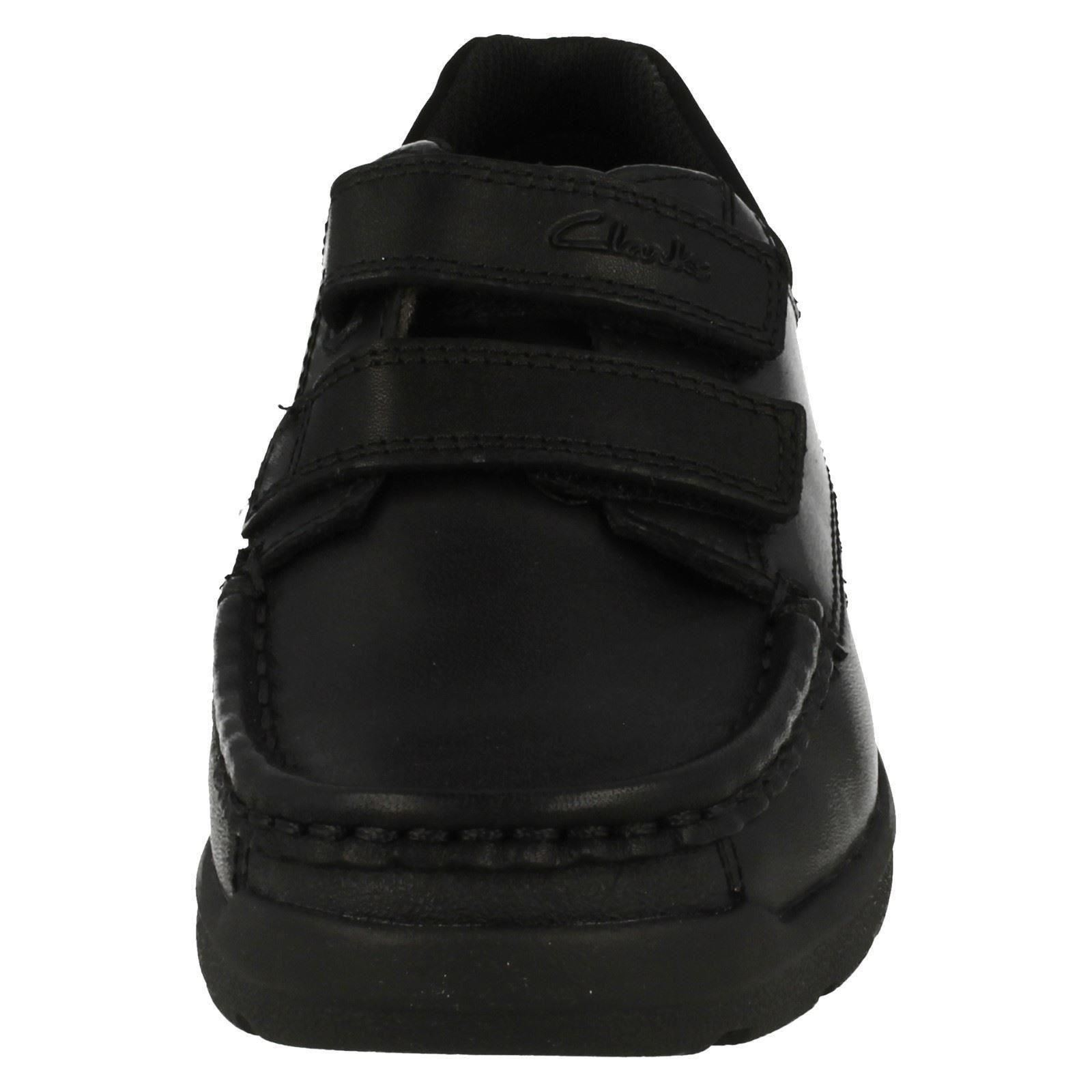 Boys Clarks Leather Smart School Shoes *Obie Play*