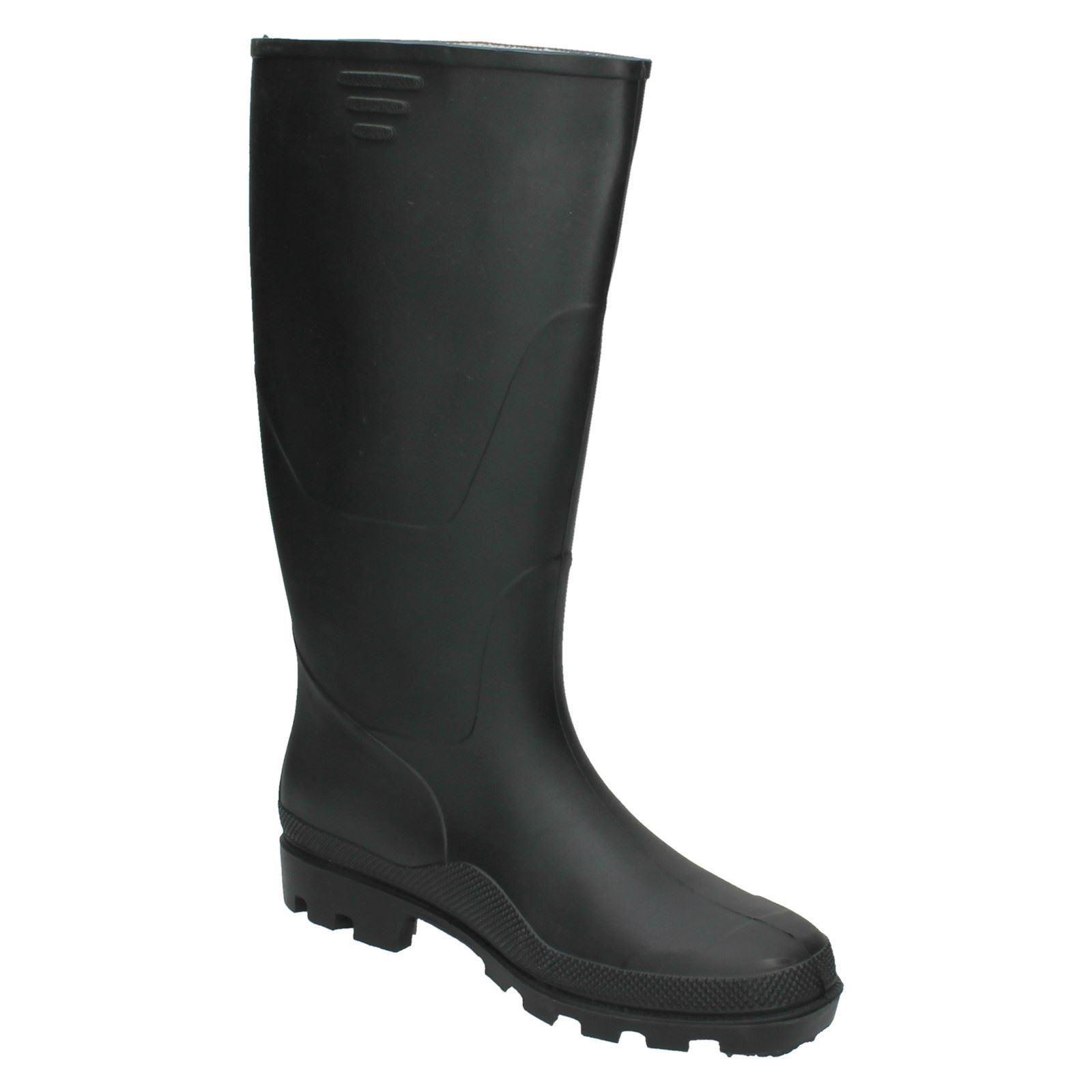 Mens Spot On *Wellington Boot*