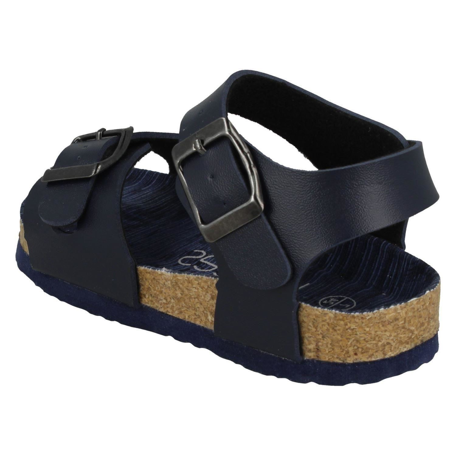 Boys JCDees Buckle Ankle Strap Sandals