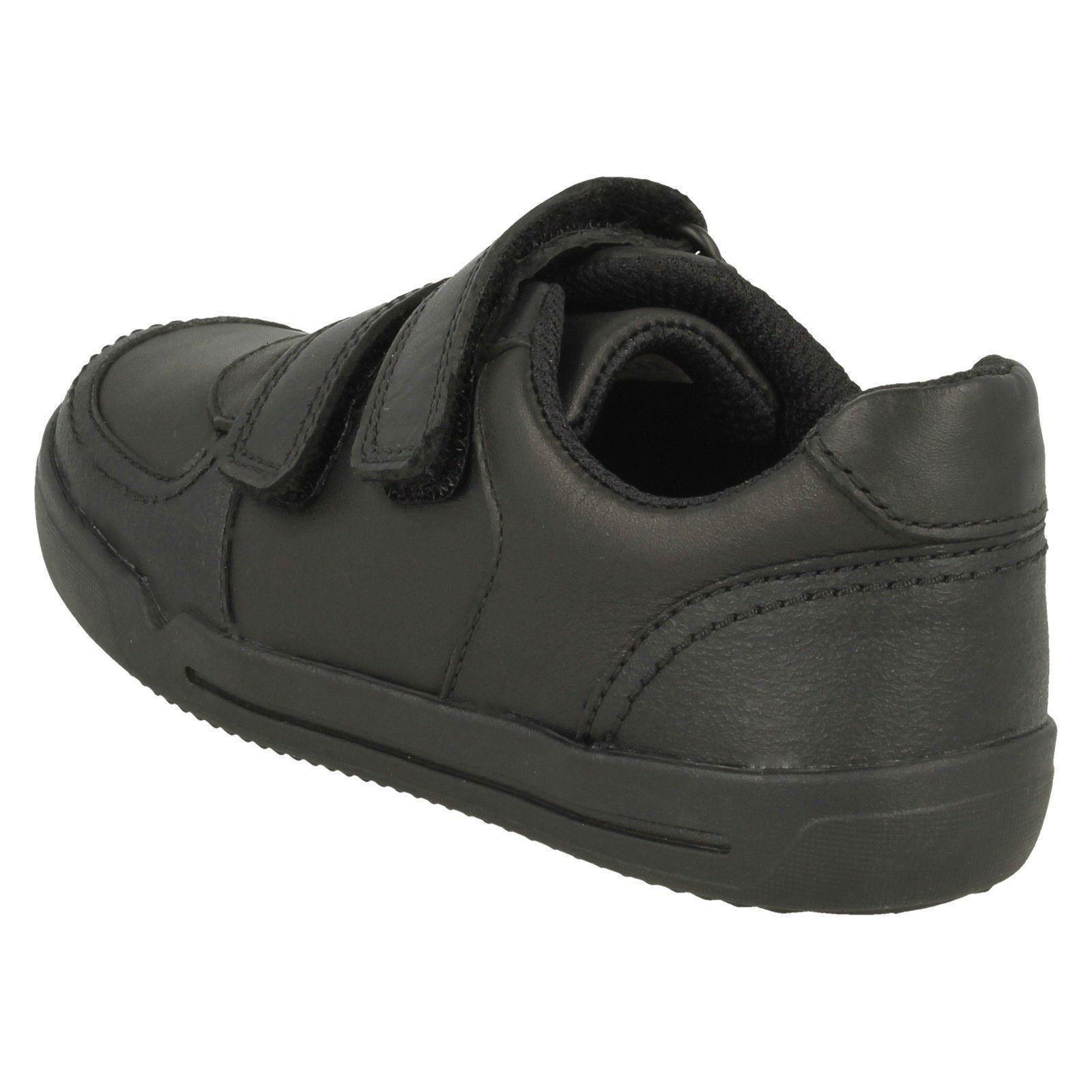 Clarks Boys Hook /& Loop School Shoes Mini Racer