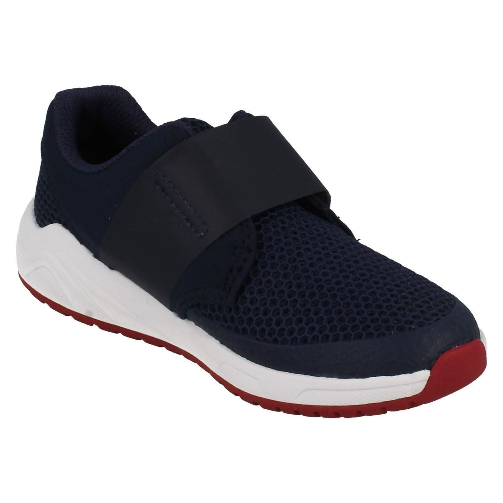 Clarks Boys Casual Trainers Frisby Ace