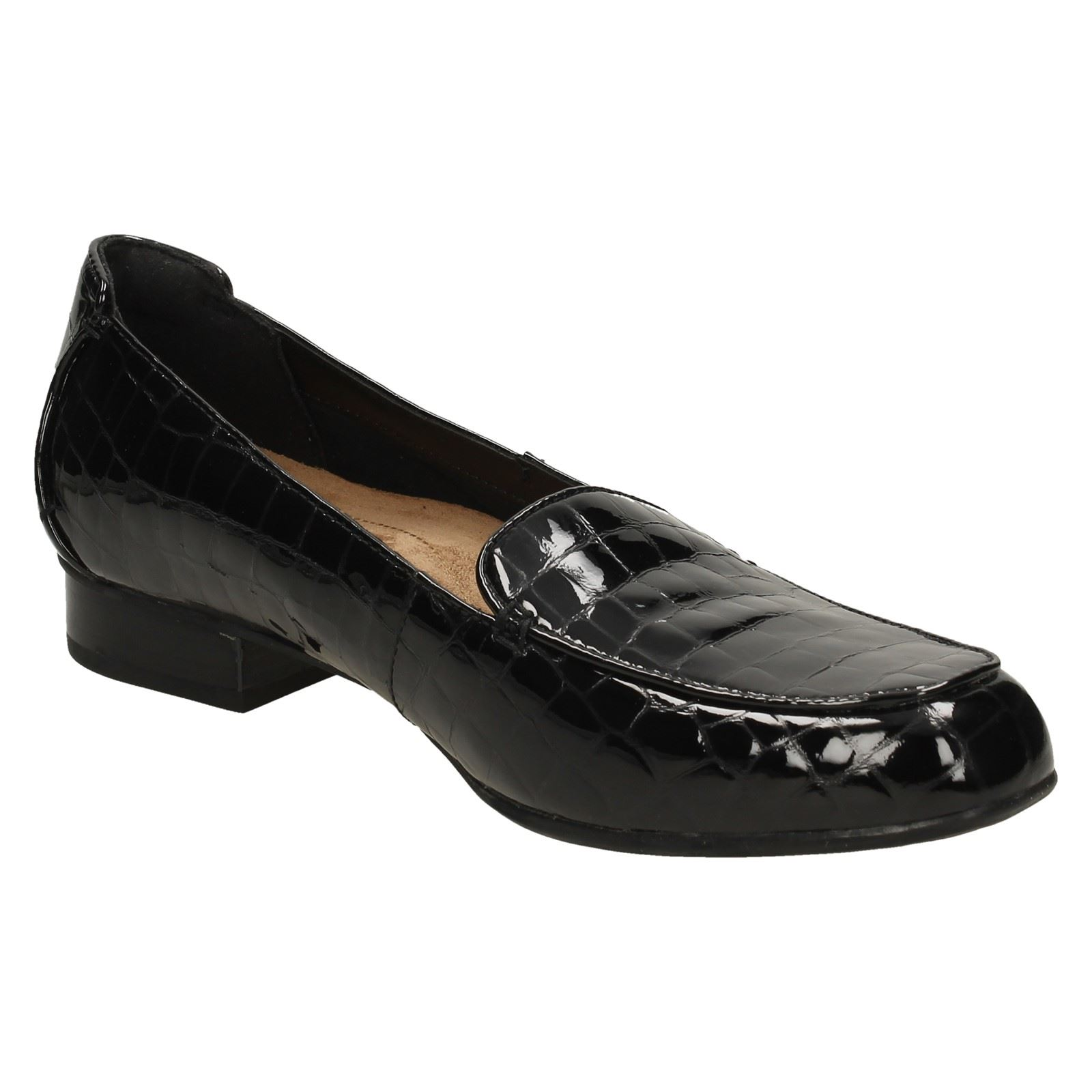 Ladies Clarks Flats /'Keesha Luca/' Leather Shoes