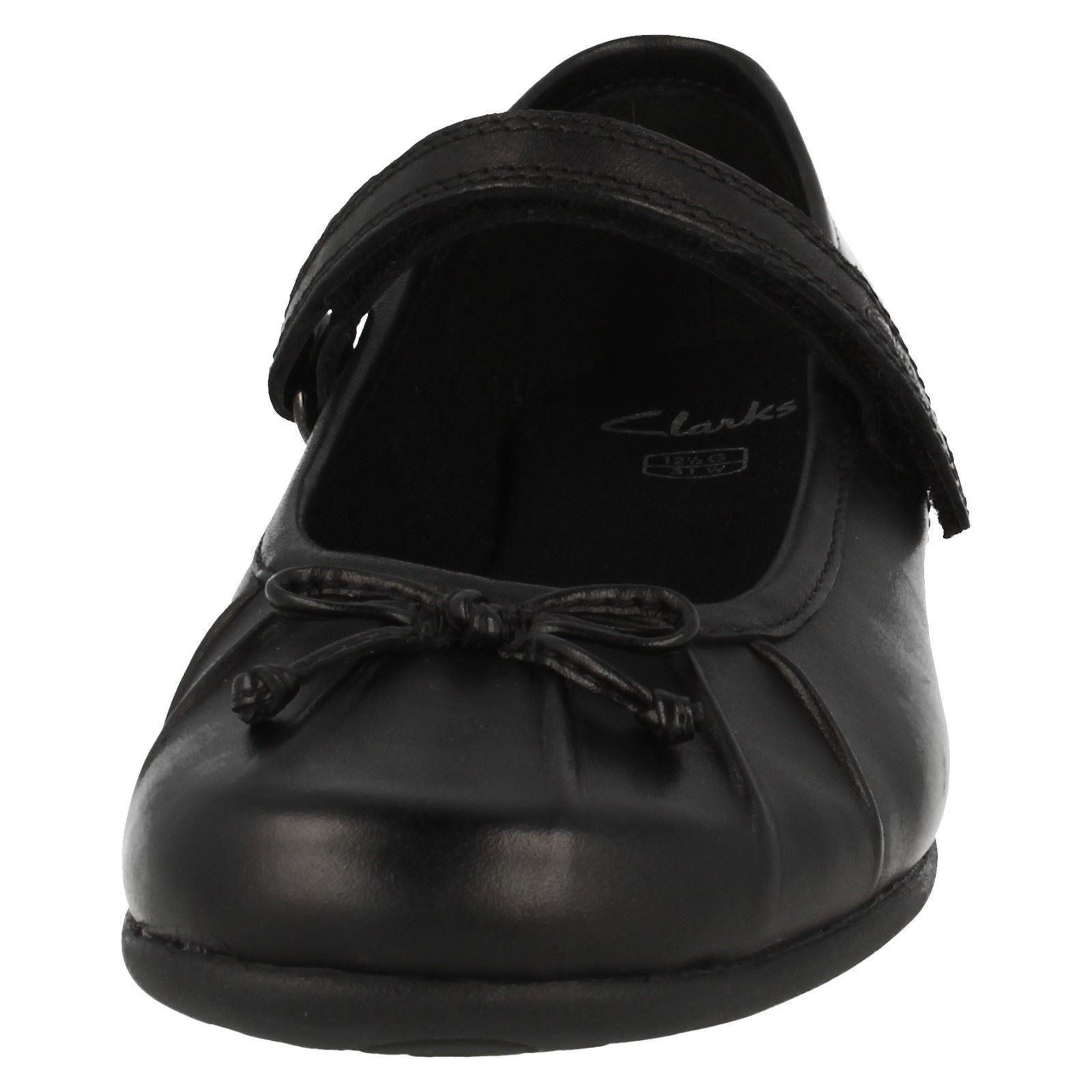 "Chicas Clarks Zapatos Escolares /""Tasha Ally/"""