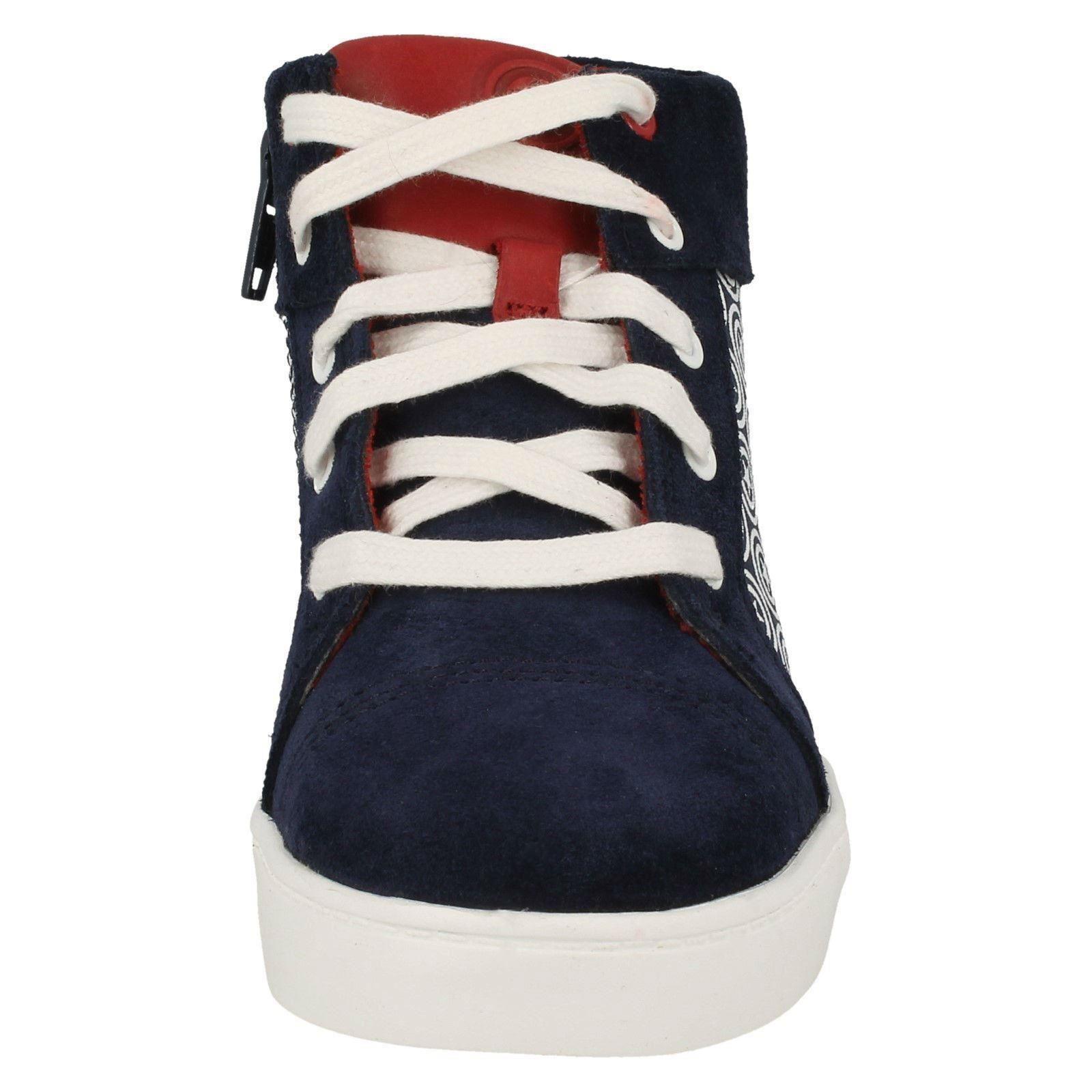Clarks Boys Hi Top Casual Shoes /'City Hero Hi/'