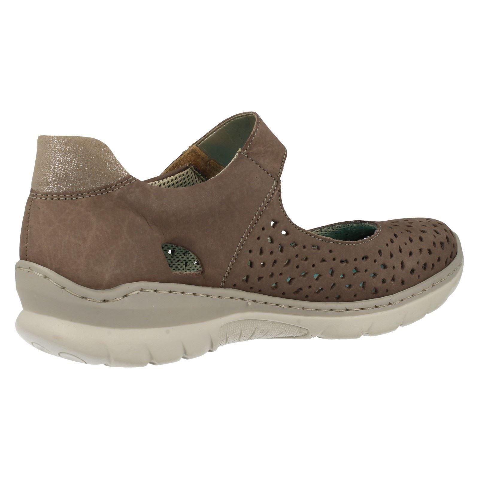 Ladies Rieker Casual Flat Shoes L3255