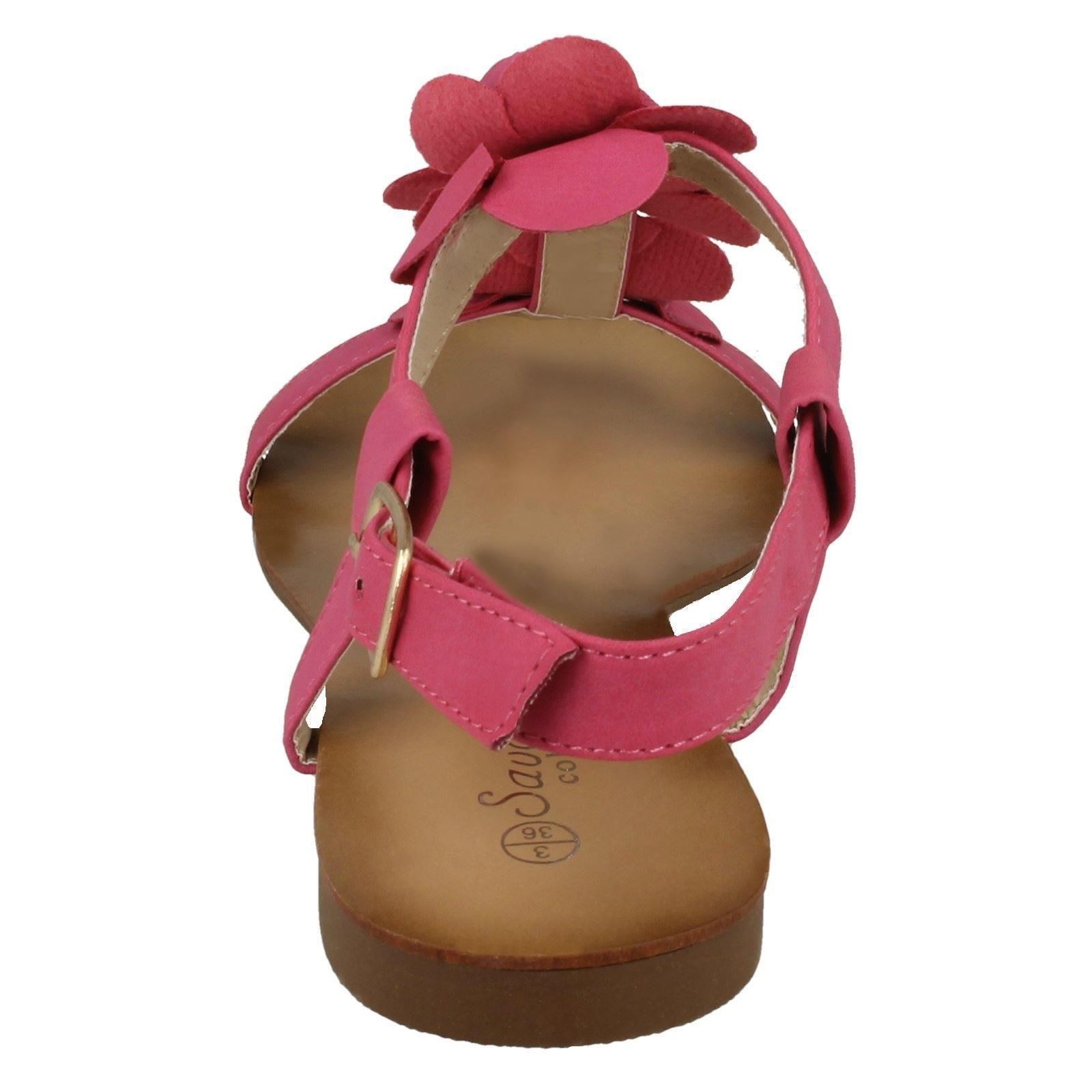 Ladies Savannah /'Sandals With Flower Motif/'