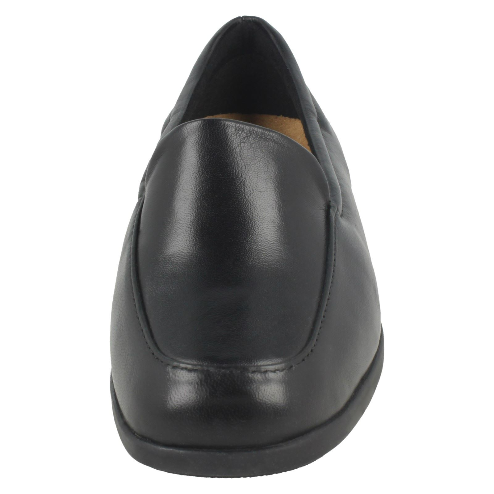 Ladies Clarks Casual Flat Loafer Style Shoes Georgia