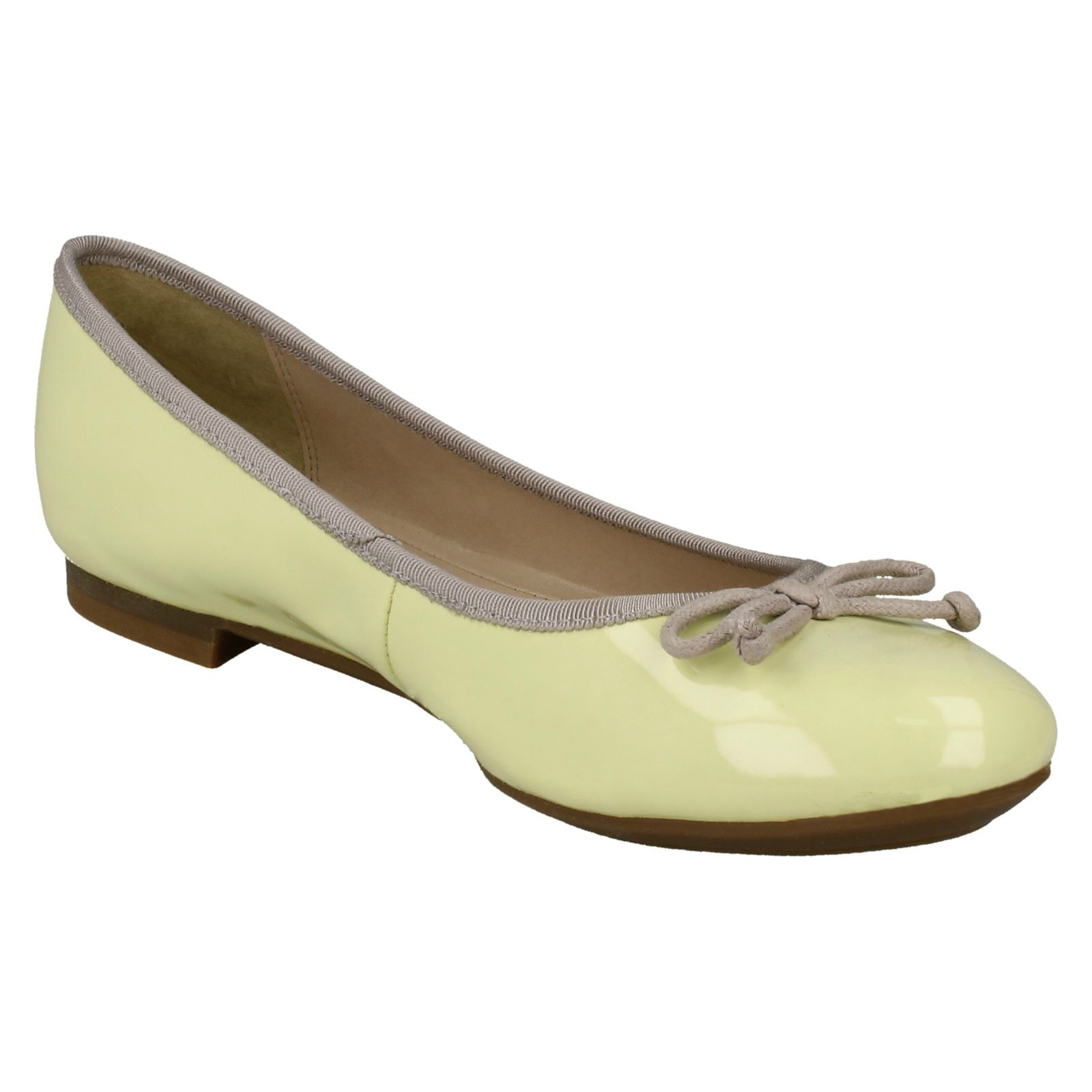 Ladies Clarks Flat Ballerina Shoes /'Carousel Ride/'