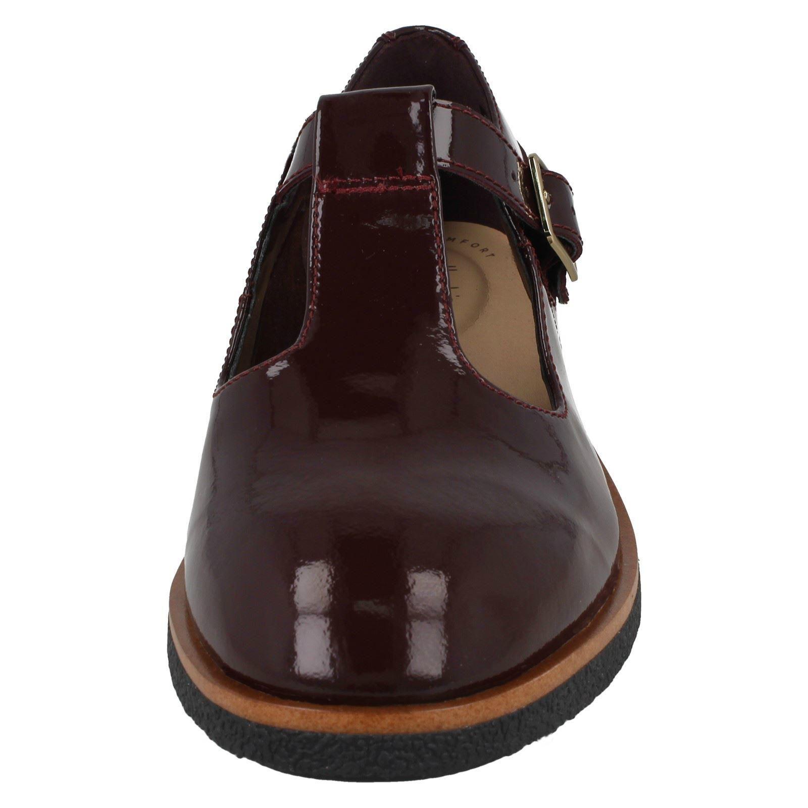 Griffin Town * Femmes Clarks T-Barre Chaussures à