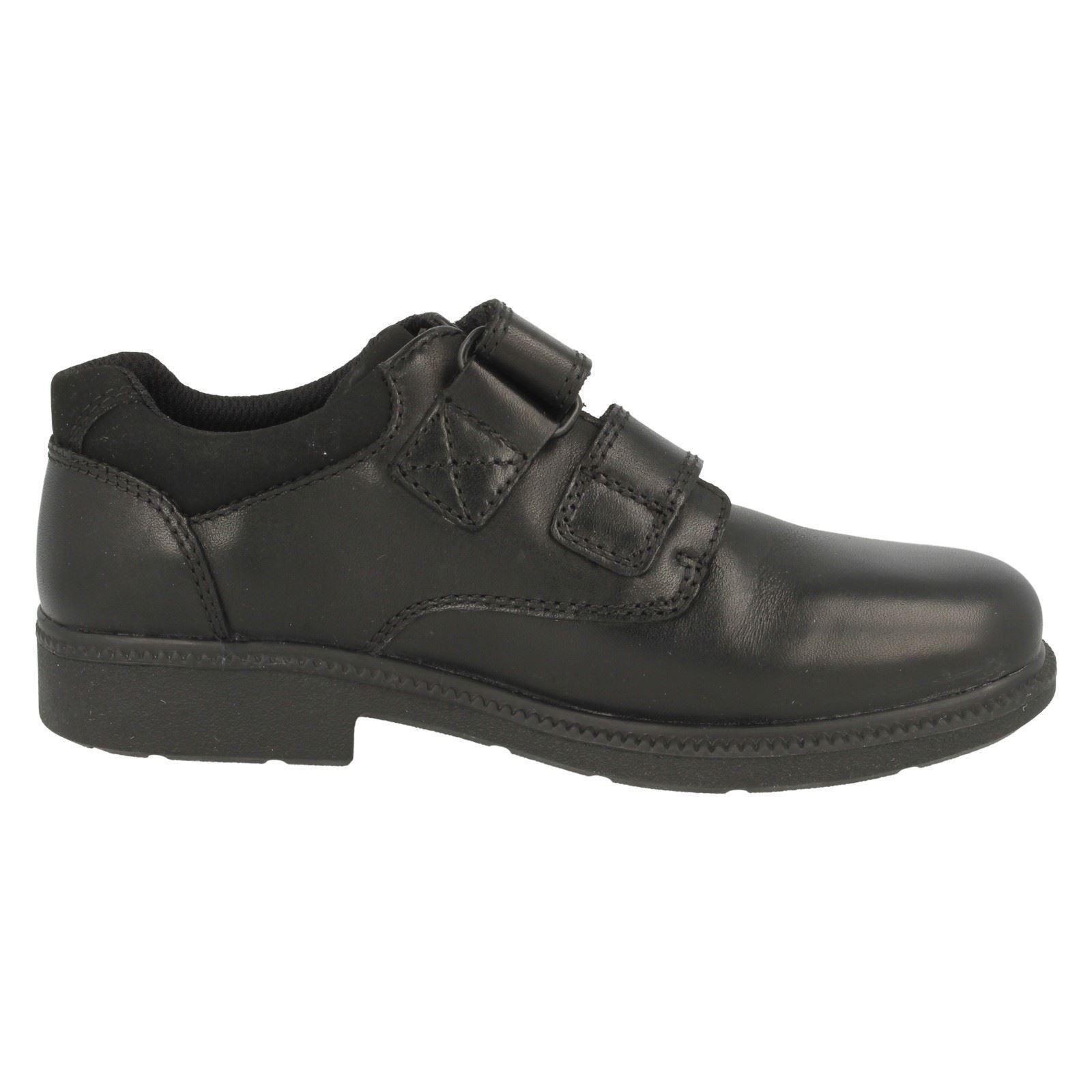 Boys Clarks Leather Classic School Shoe /'Deaton/'