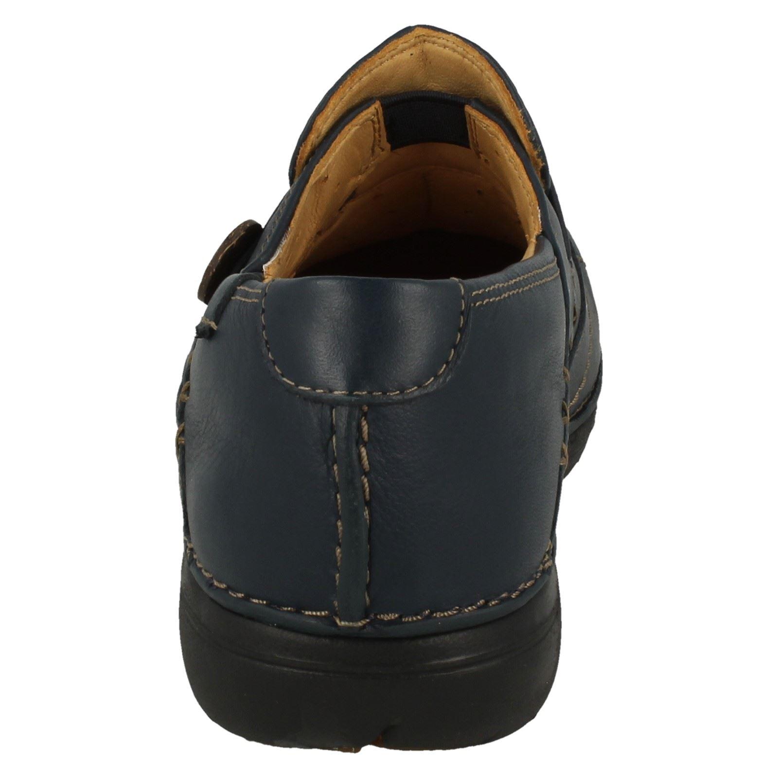 Ladies Clarks Un Structured Slip On Shoes Un Loop