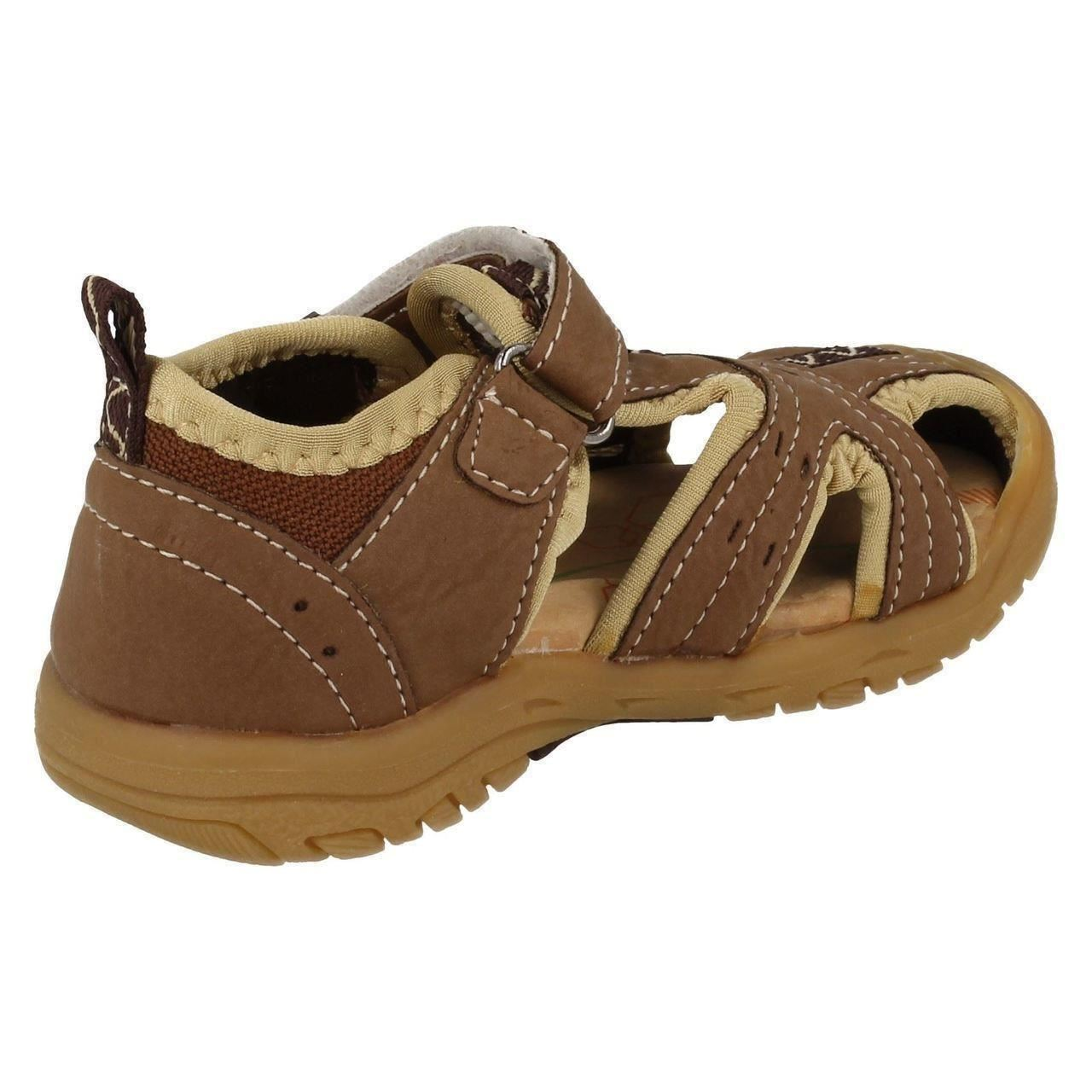 JCDees Boys Closed Toe Casual Sandals