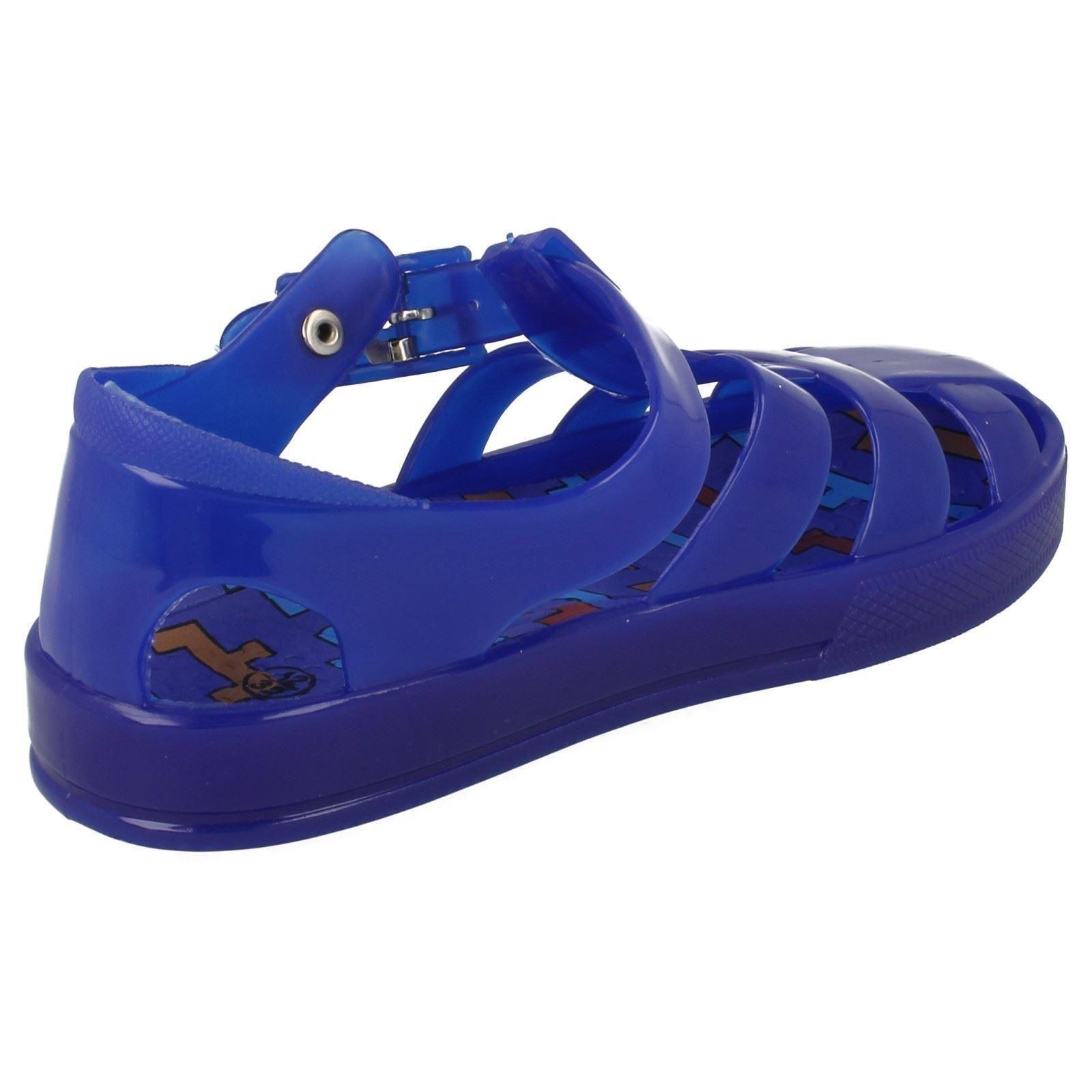 Spot On Childrens Boys Girls Jelly Sandals