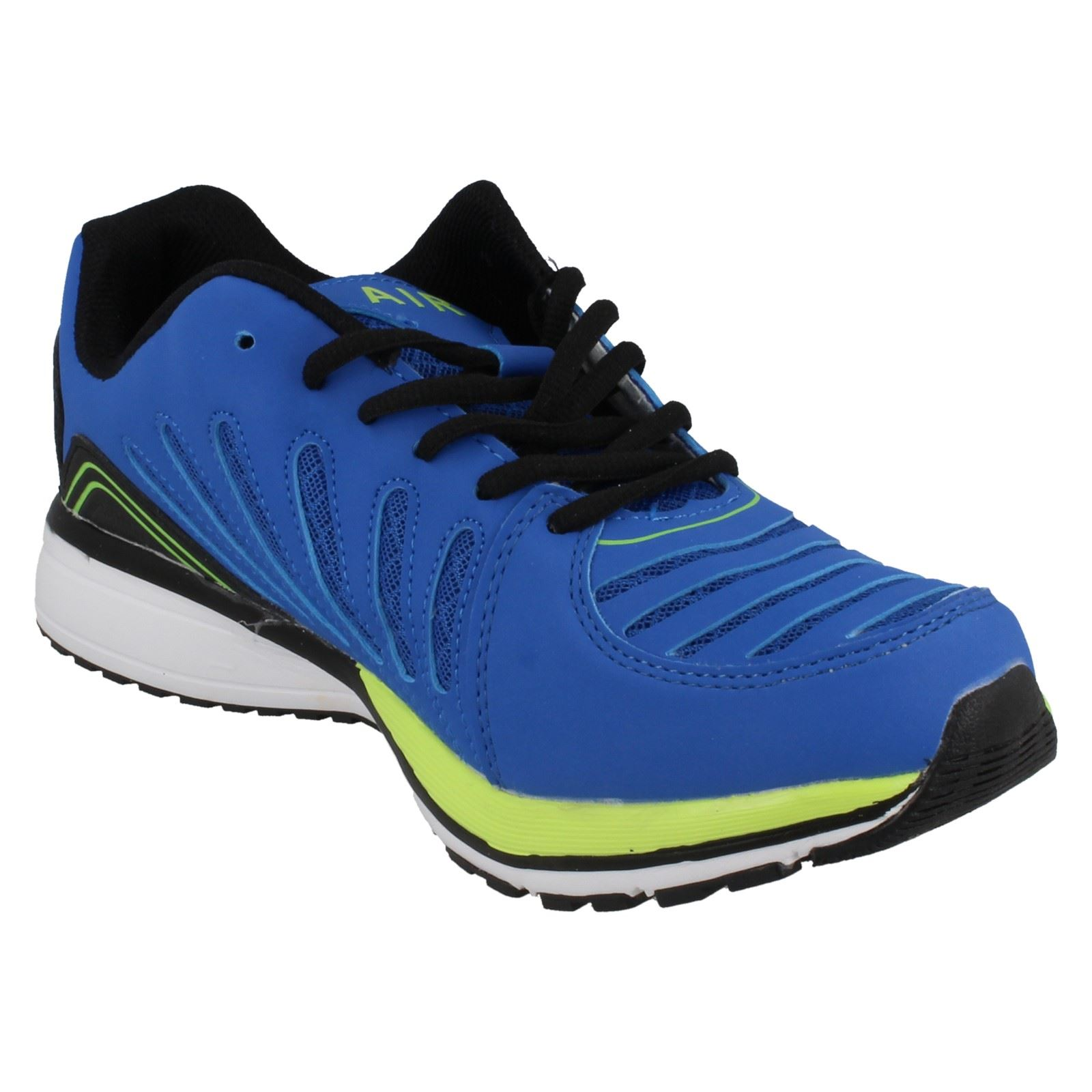 Mens Air Tech Lace Up Trainers /'Sport Brake/'