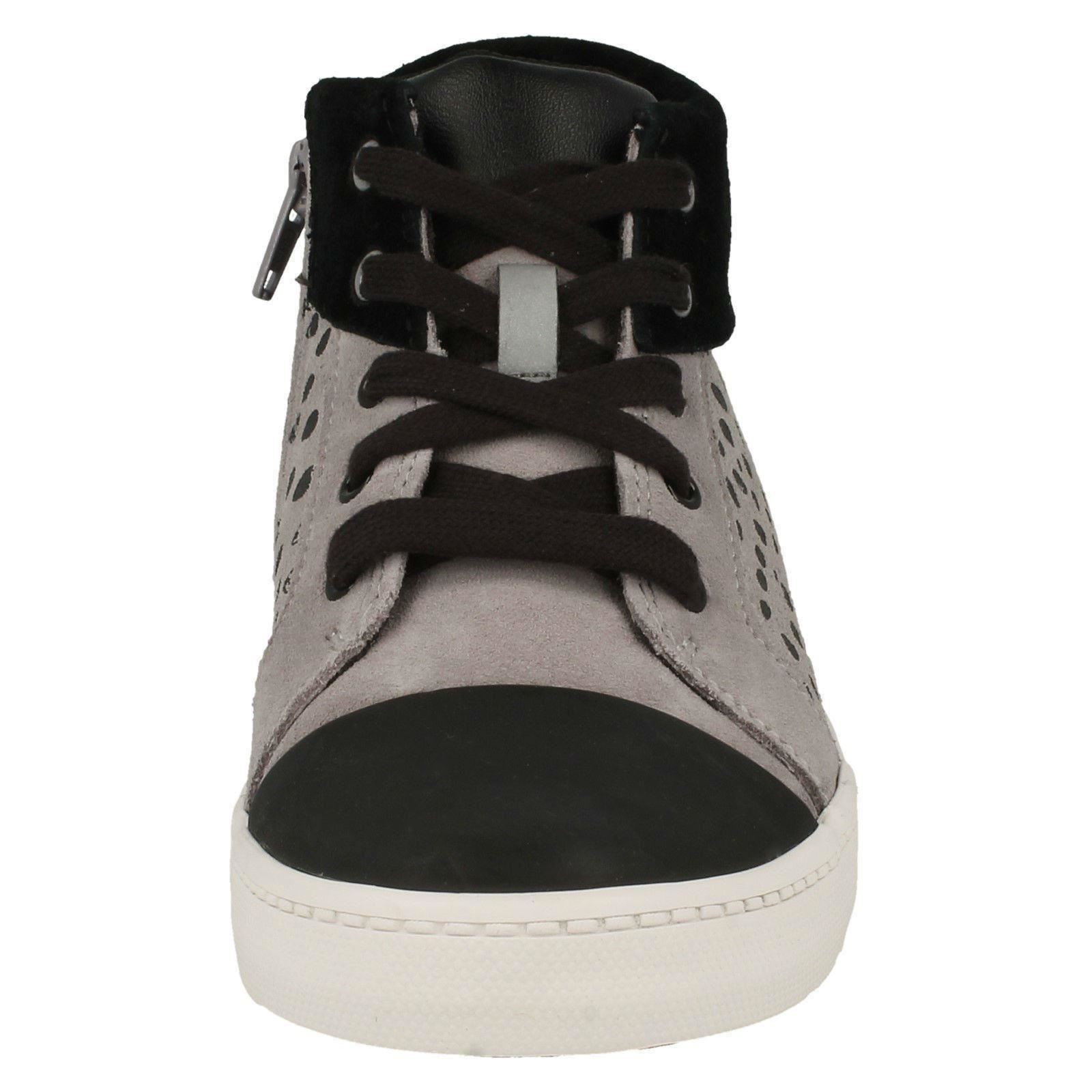 Boys Clarks Spotty Detail Ankle Boots City Vine Hi