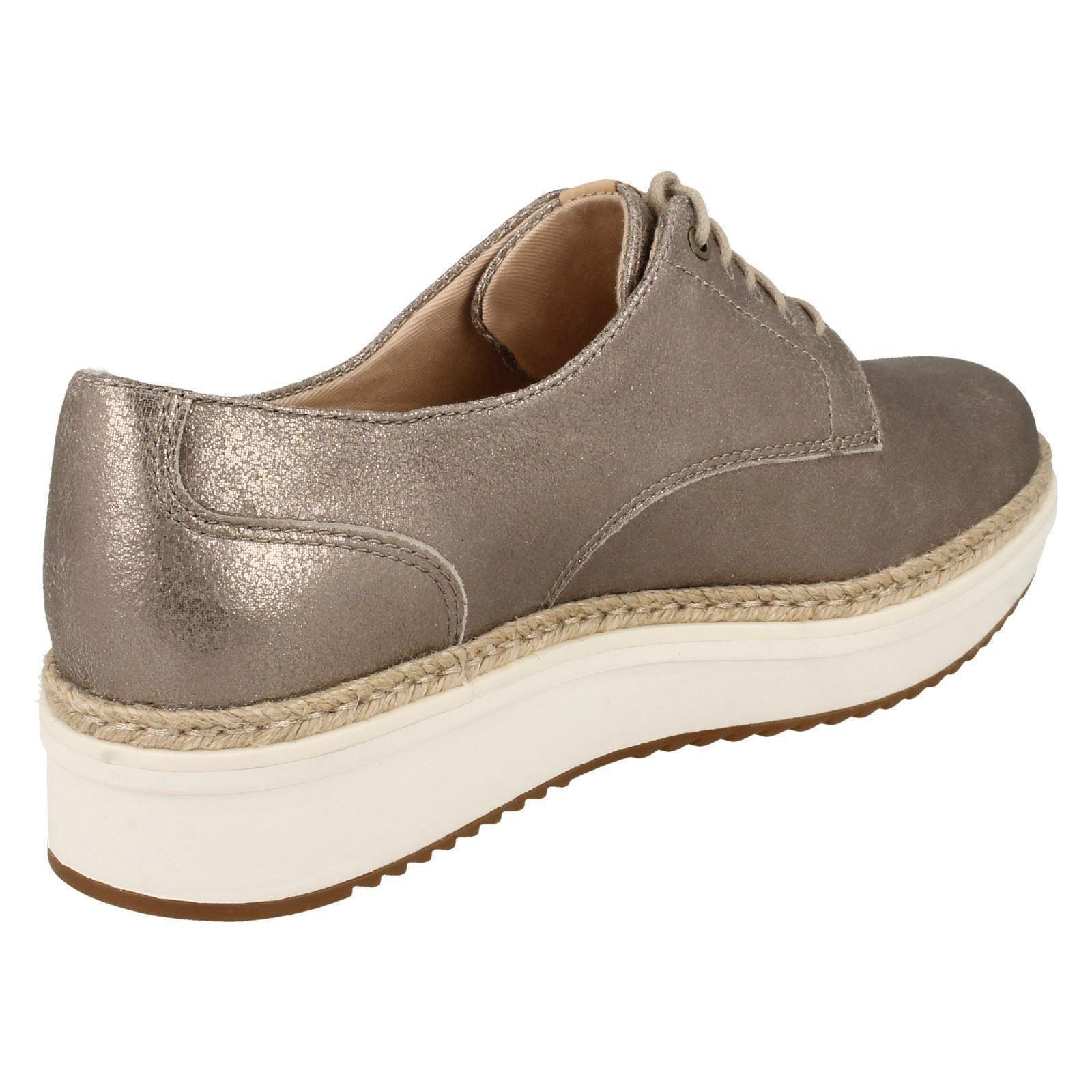 Teadale Rhea Clarks Ladies Brogue Style Shoes