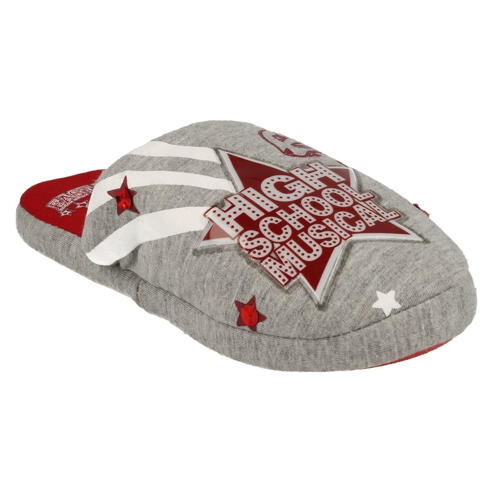 Girls Spot On High School Musical Mule Slippers