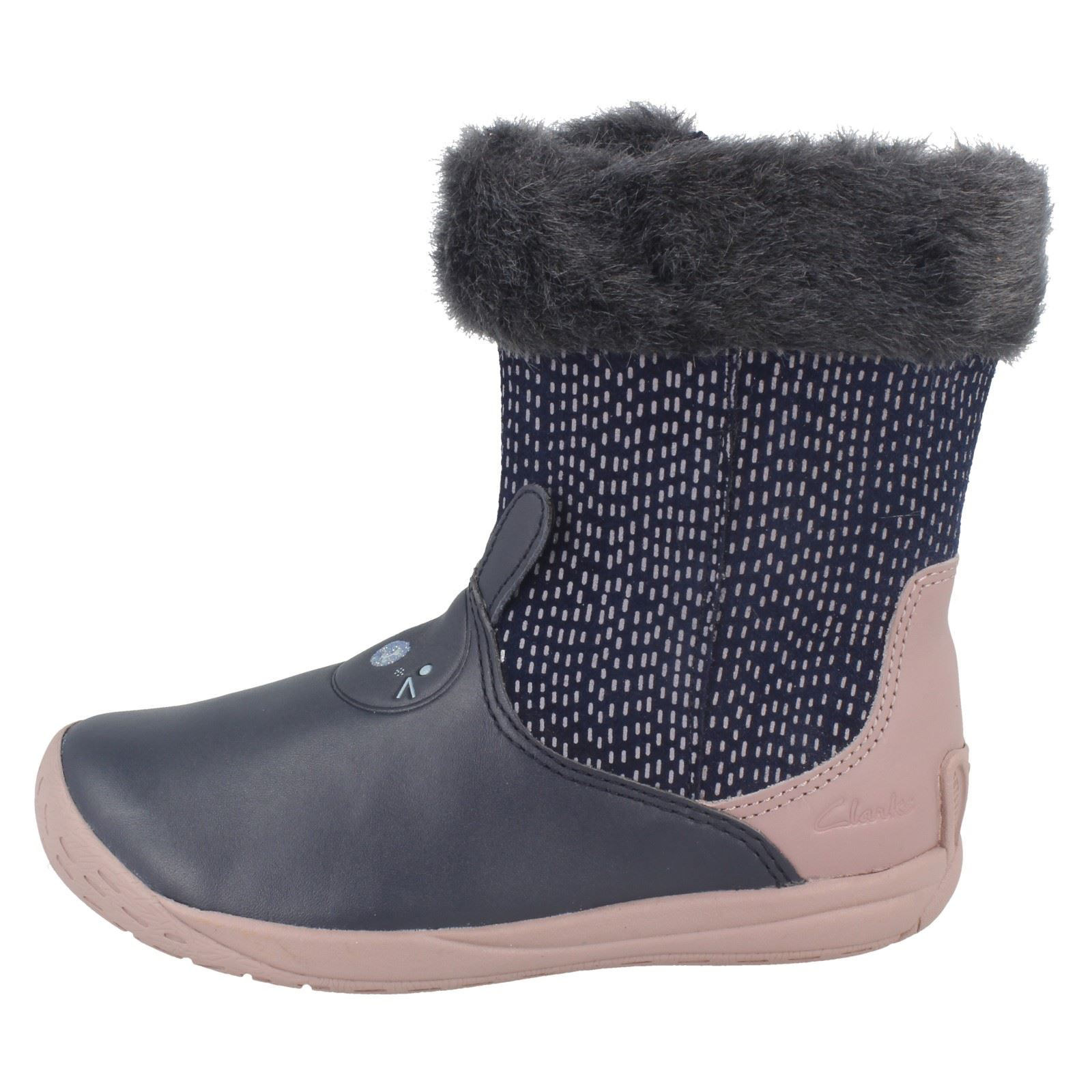 Girls Clarks Boots /'Puppet Time/'