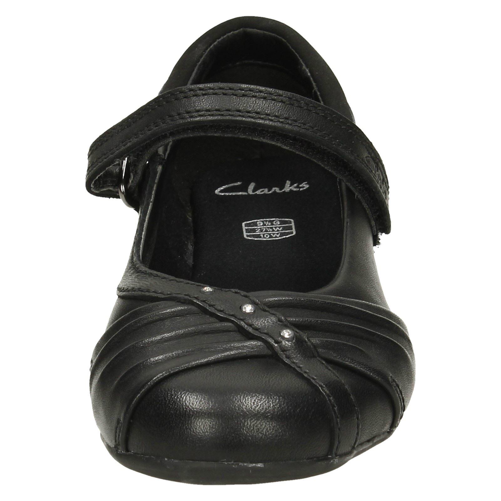 Girls Clarks Ballerina Style School Shoes Dolly Shy