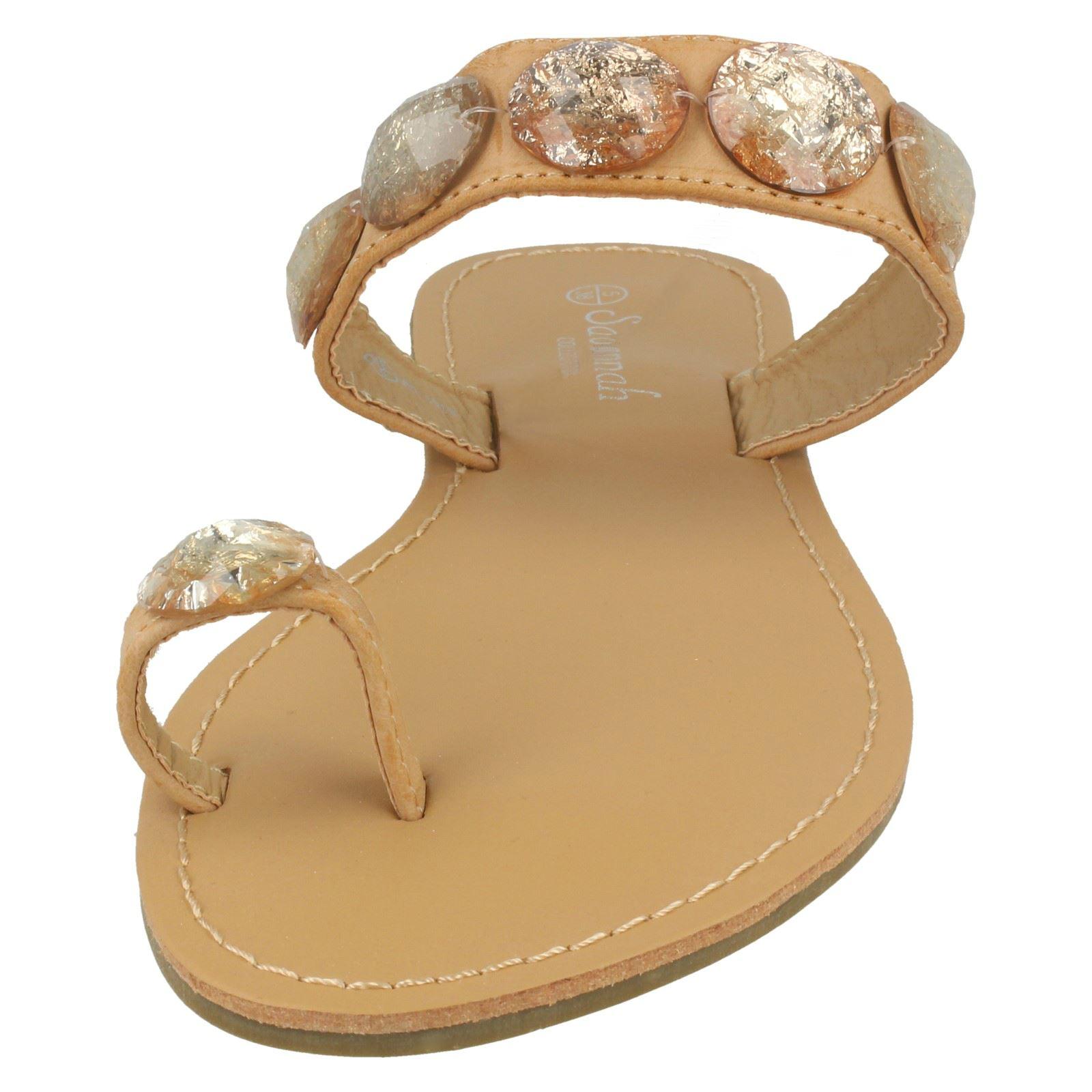 Savannah Femme Plat Bout Boucle Sandales