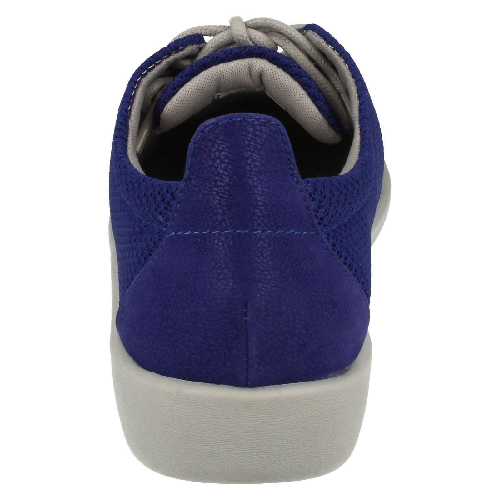 Ladies Clarks Cloud Steppers Lace Up Shoes /'Sillian Tino/'