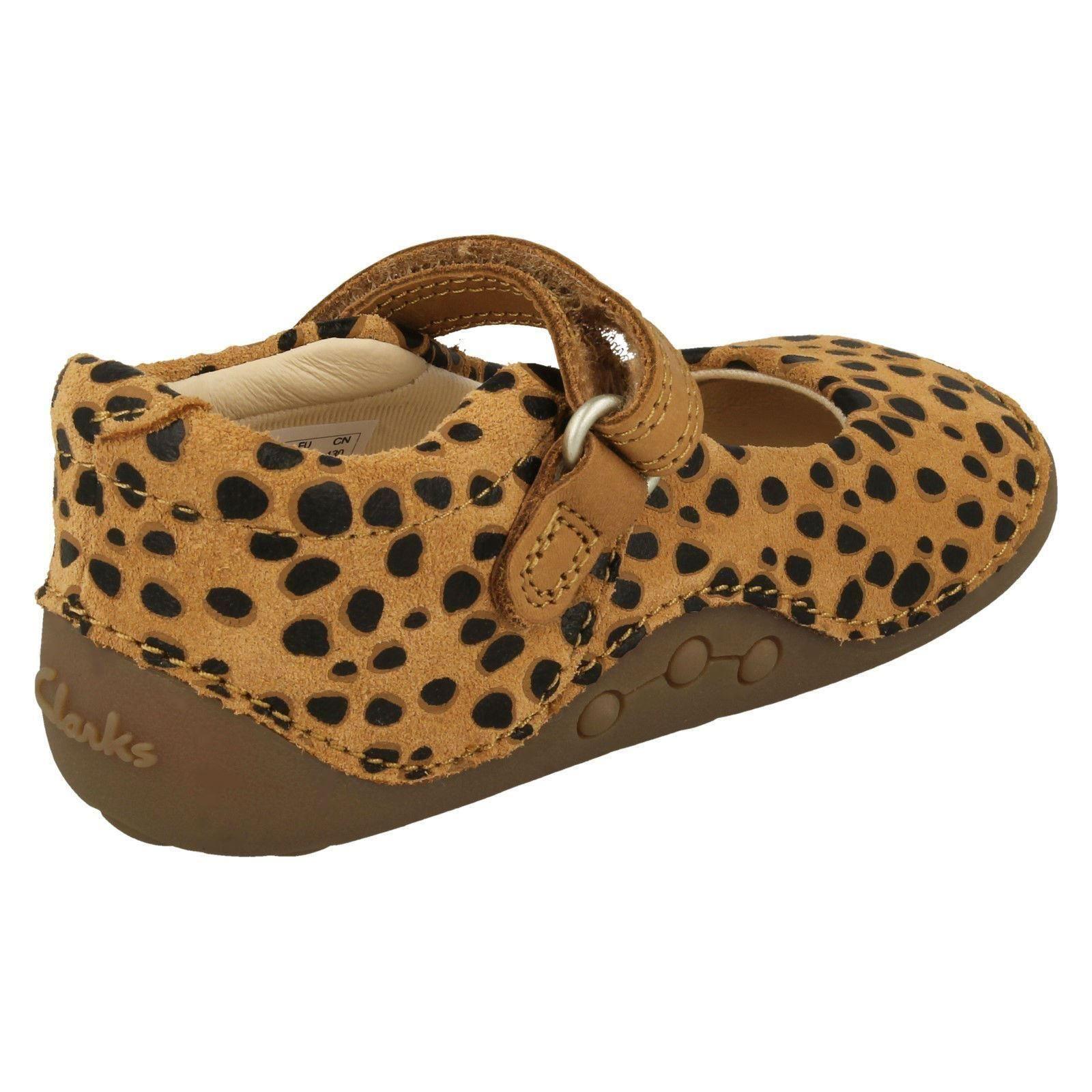 Filles Casual Première Chaussures Clarks Tiny Mist