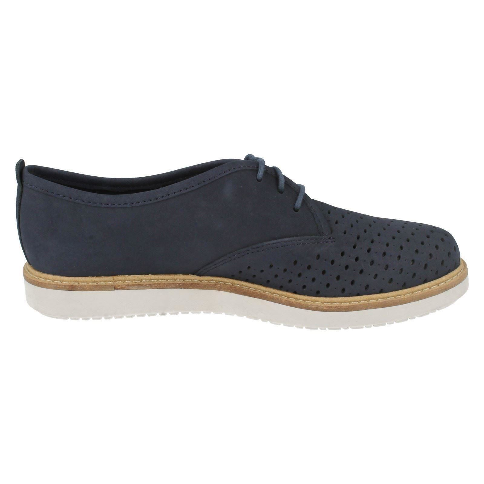 Clarks Ladies Casual Shoes Glick Resseta