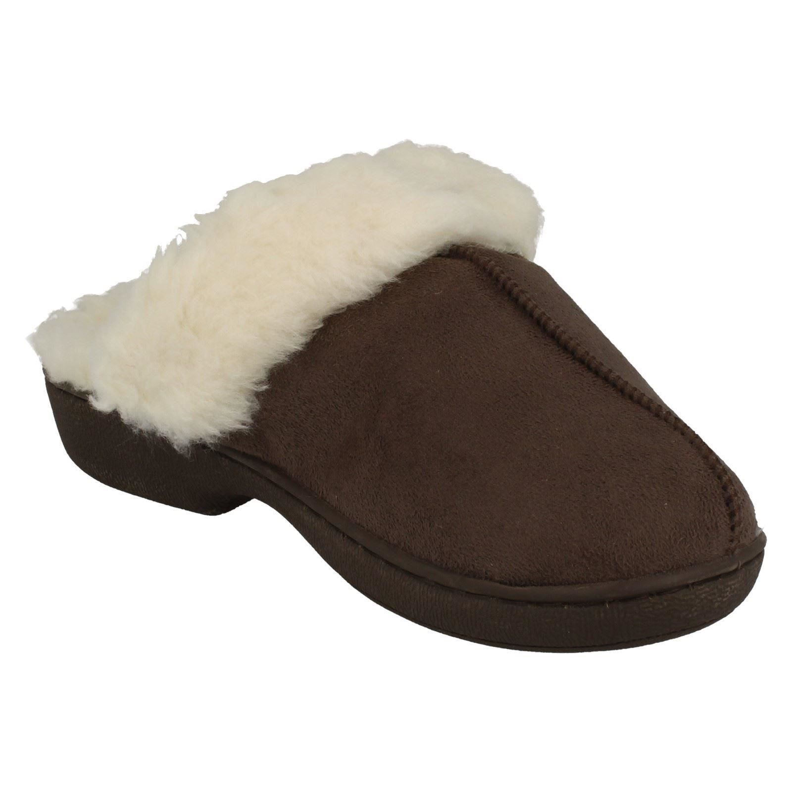 * Donna Jyoti Caldo Foderato Casa Pantofola Muli Wendy