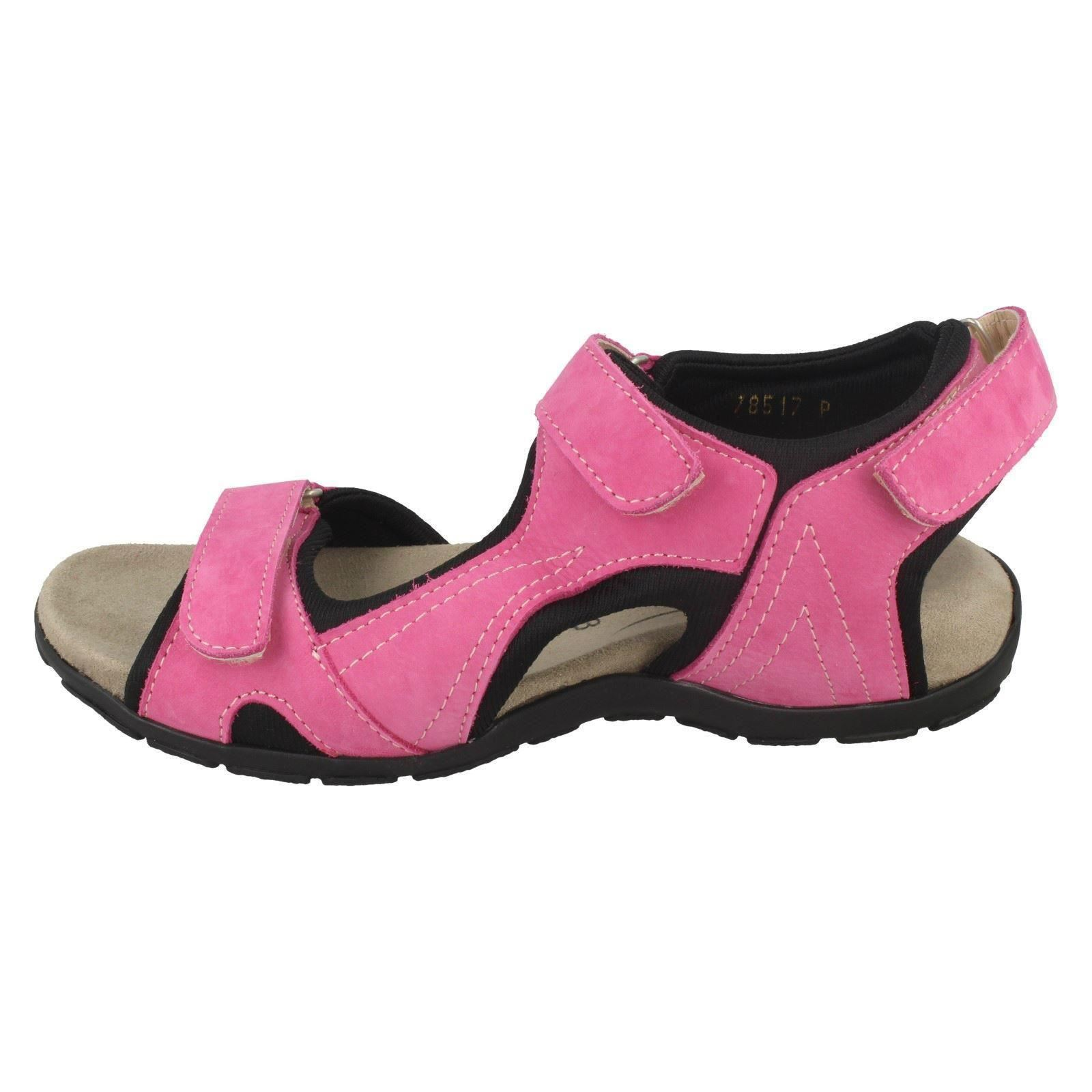 "Femmes Easy B attaché Sports Sandales /""Fenouil/"" 78517P"