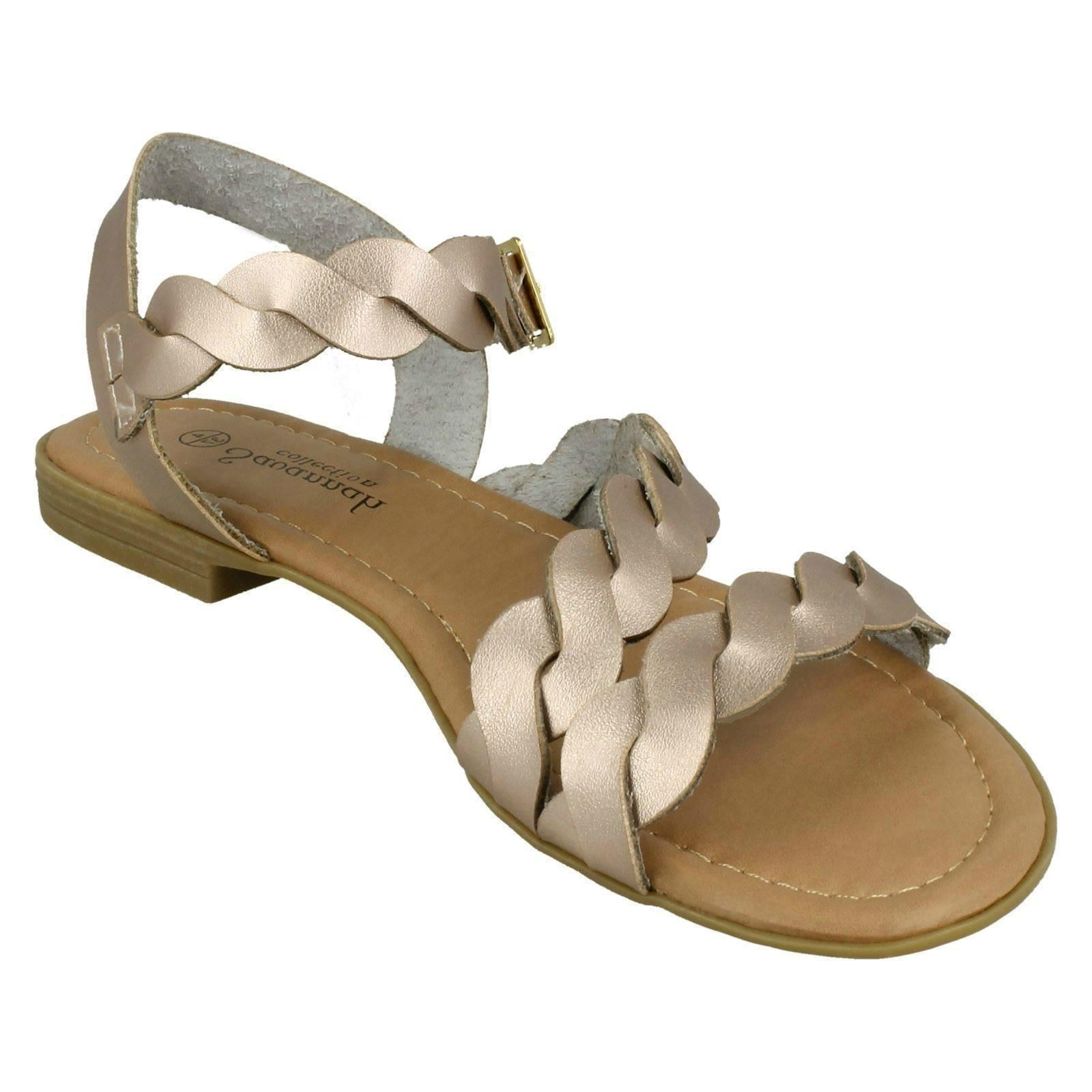 Savannah Femme Plates Boucle Sandales