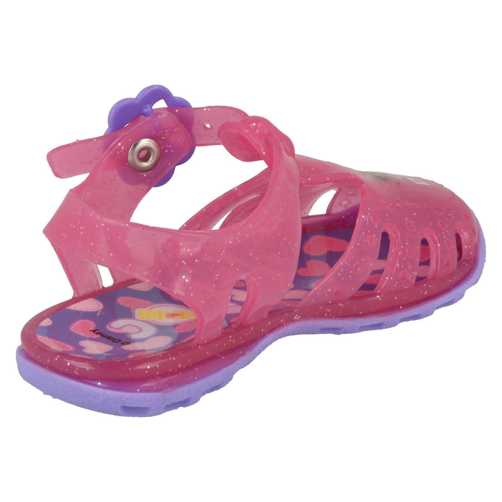 Girls Disney Doc McStuffins Jelly Sandal /'Woodcroft/'