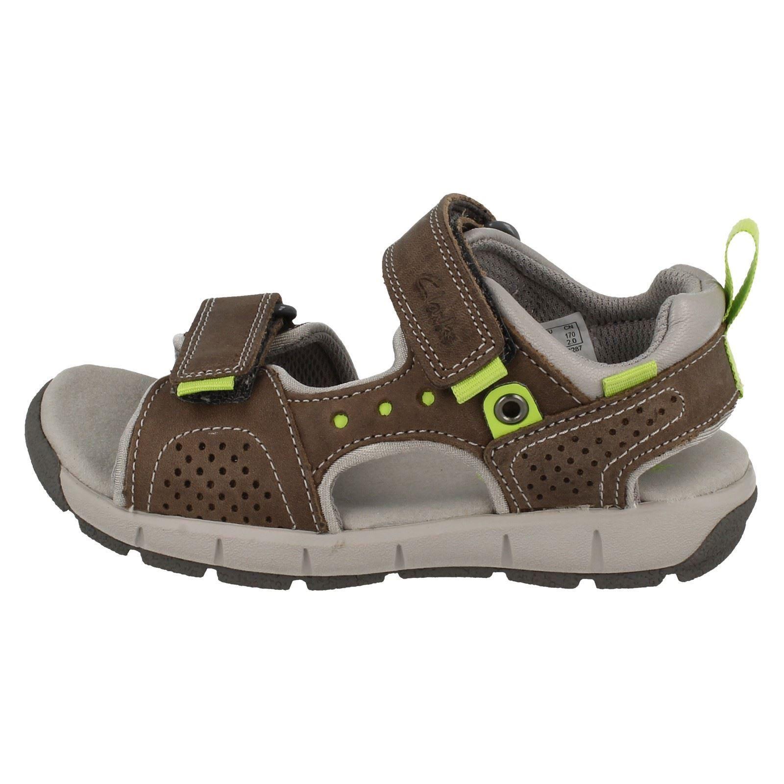 Infant//Junior Boys Clarks Casual Summer Sandals /'Jolly Wild/'