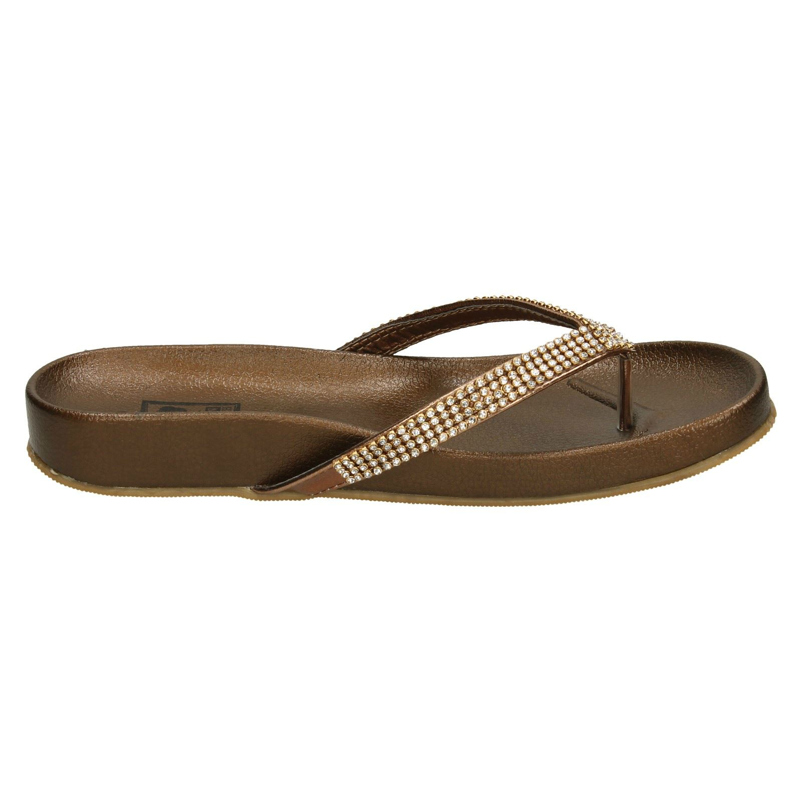 Ladies Down to Earth Sandals Toe Post
