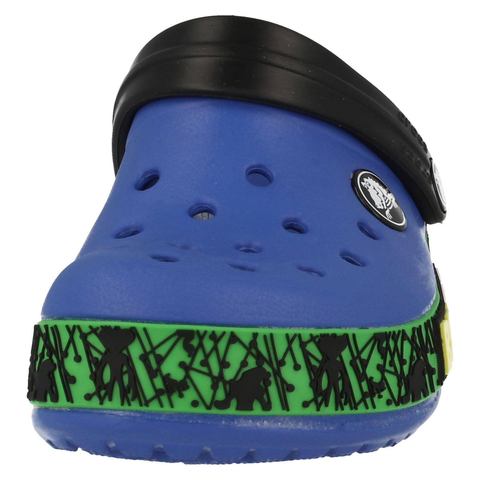 Boys Ben 10 Croc Mule Sandals /'Crocband Ben 10 Kids/'