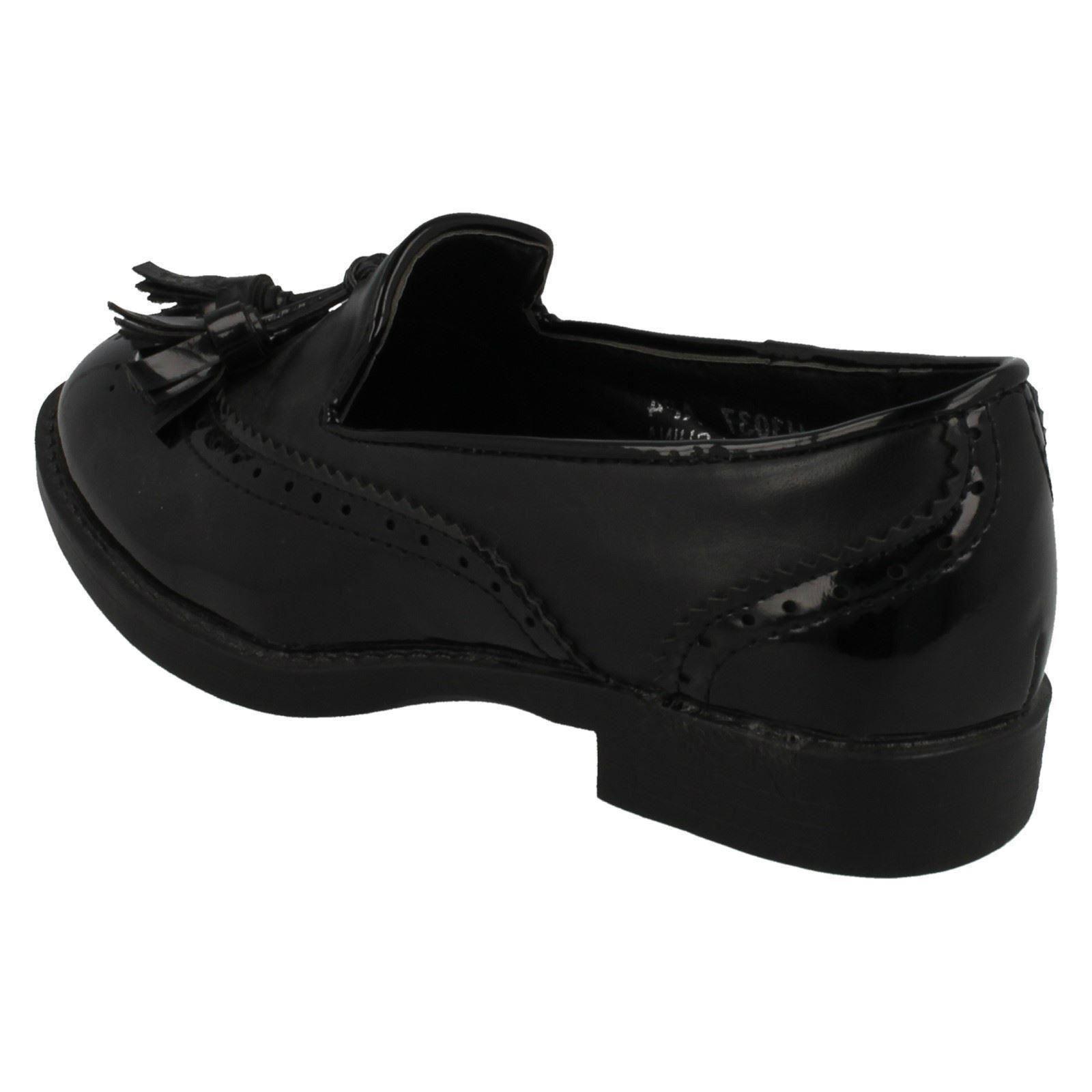 Spot On Girls Brogue Detail School Shoes