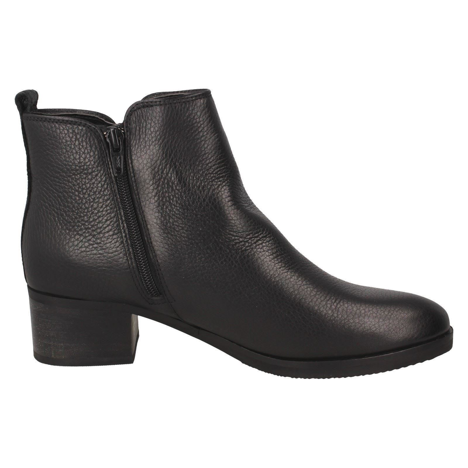 Ladies Clarks Ankle Boots /'/'Mila Sky/'/'
