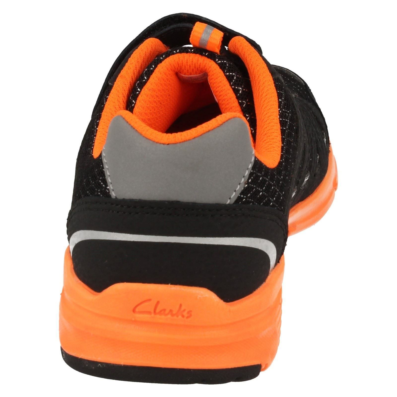 Boys Cica by Clarks Pass Fly Mesh Trainers