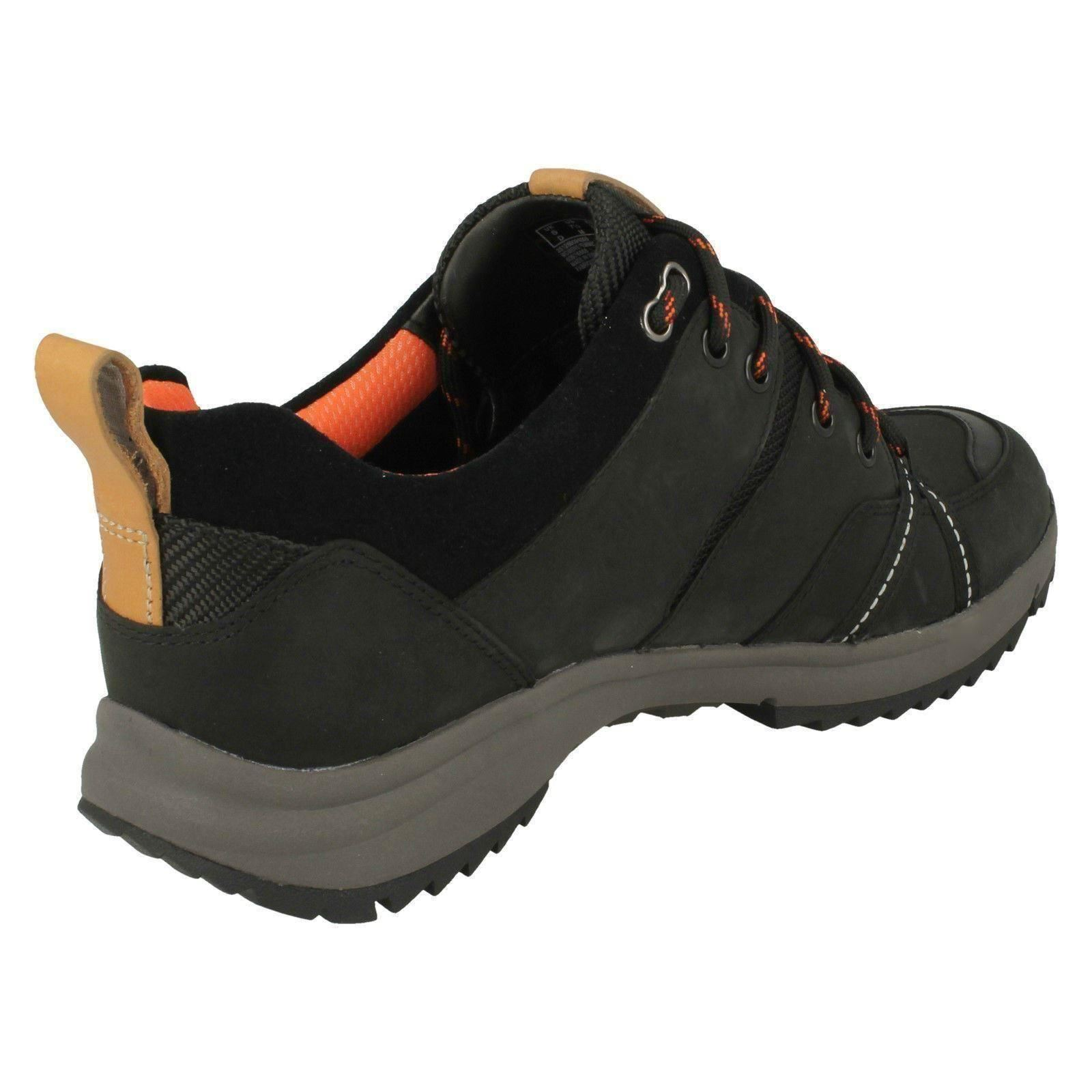 Ladies Clarks Trainer Style Lace Up Fastening Leather Shoes /'Tri Trek Gtx/'